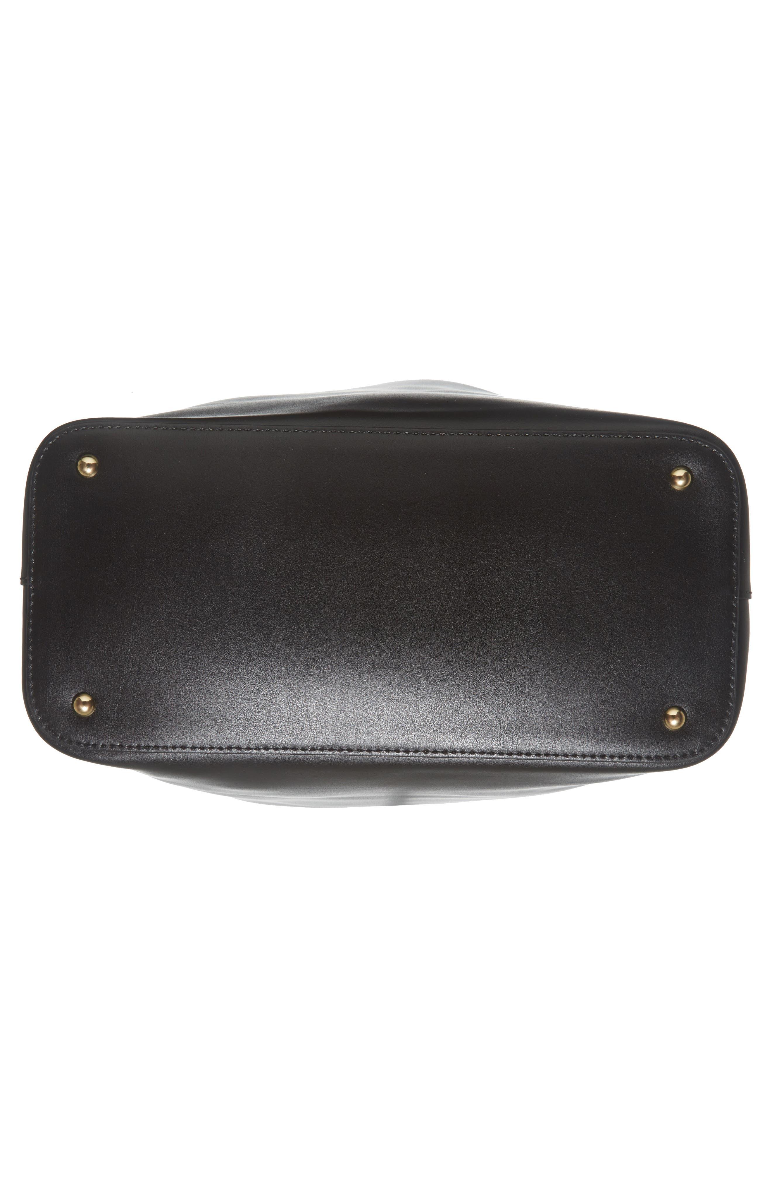 Alternate Image 6  - Lodis Silicon Valley Large Halina Leather Bucket Bag