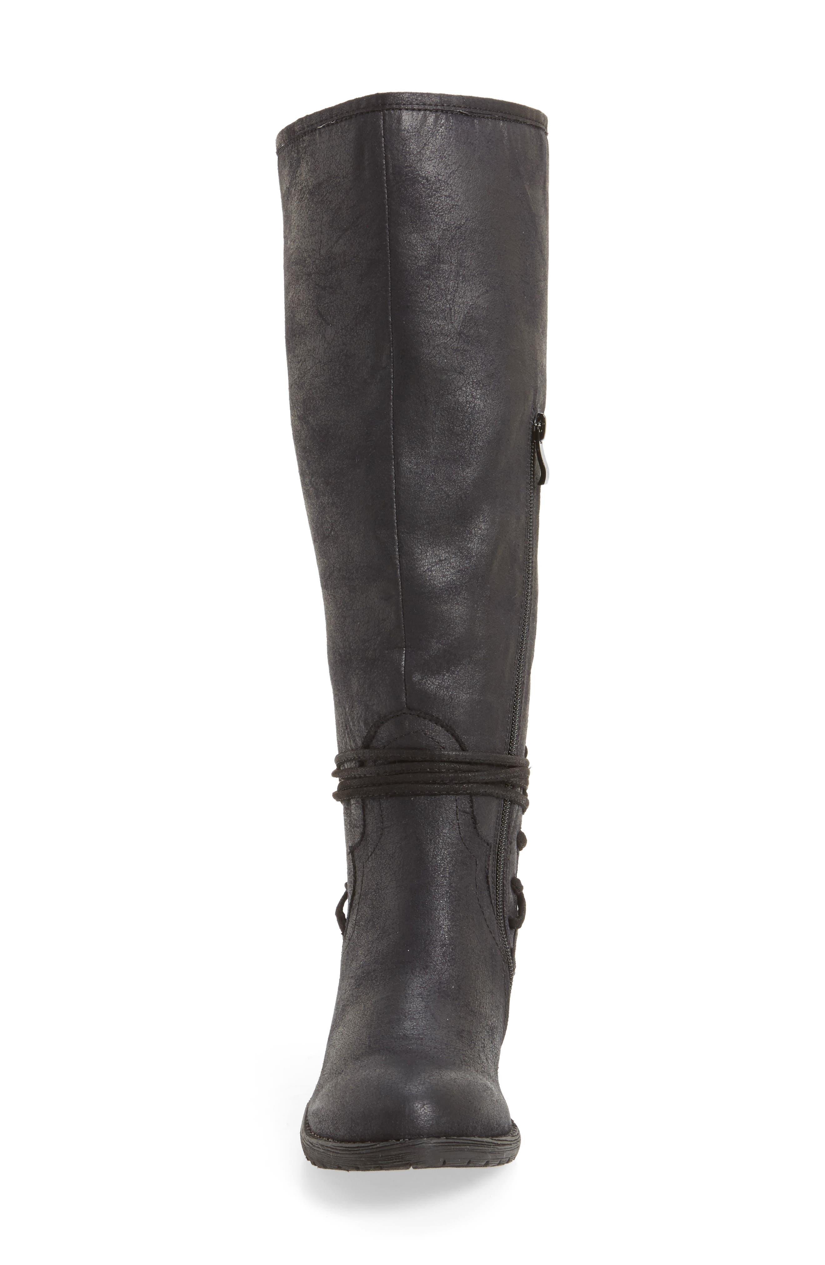 Alternate Image 4  - Very Volatile Marcel Corseted Knee High Boot (Women)