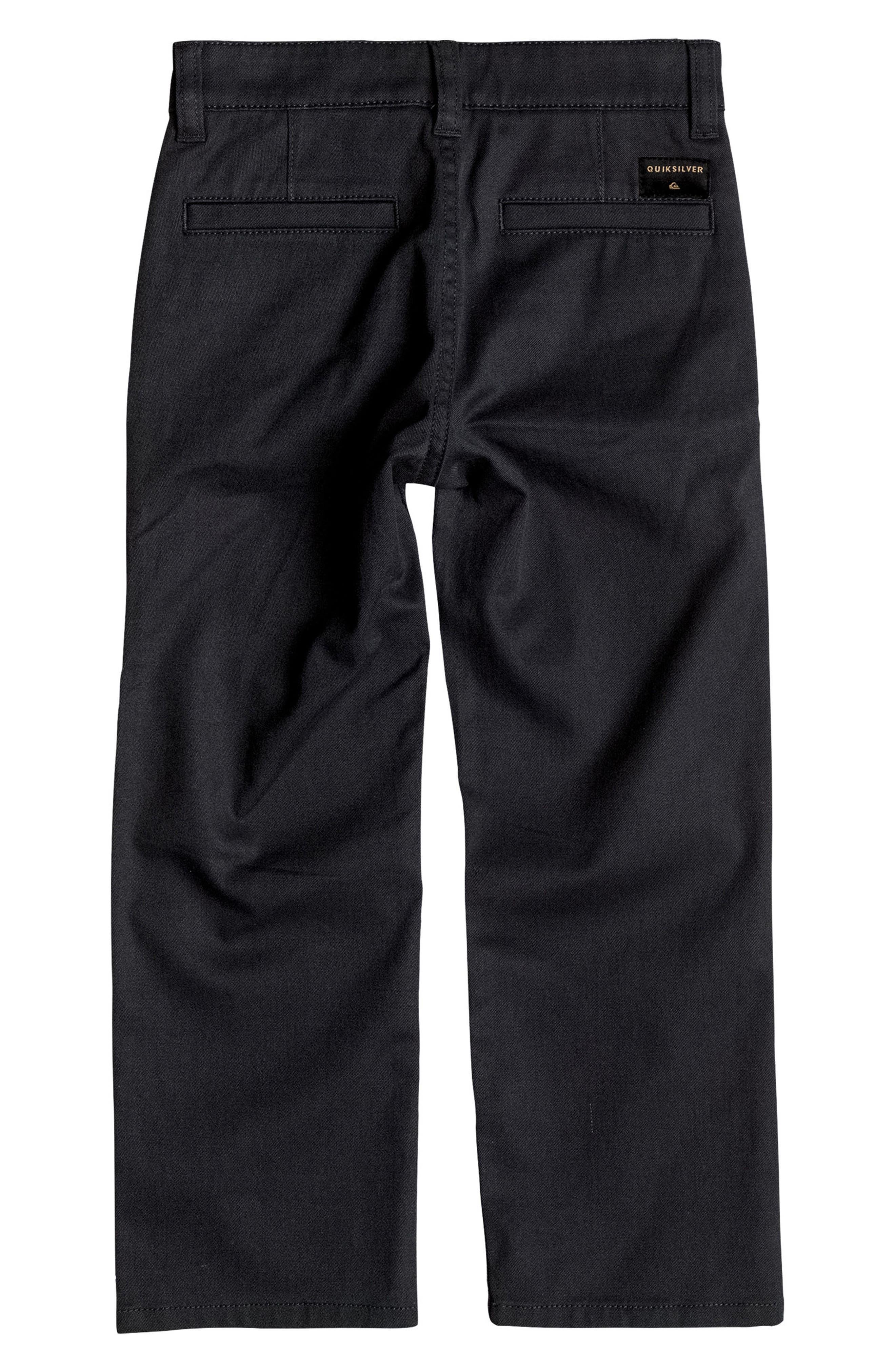 Everyday Union Pants,                             Alternate thumbnail 2, color,                             Black