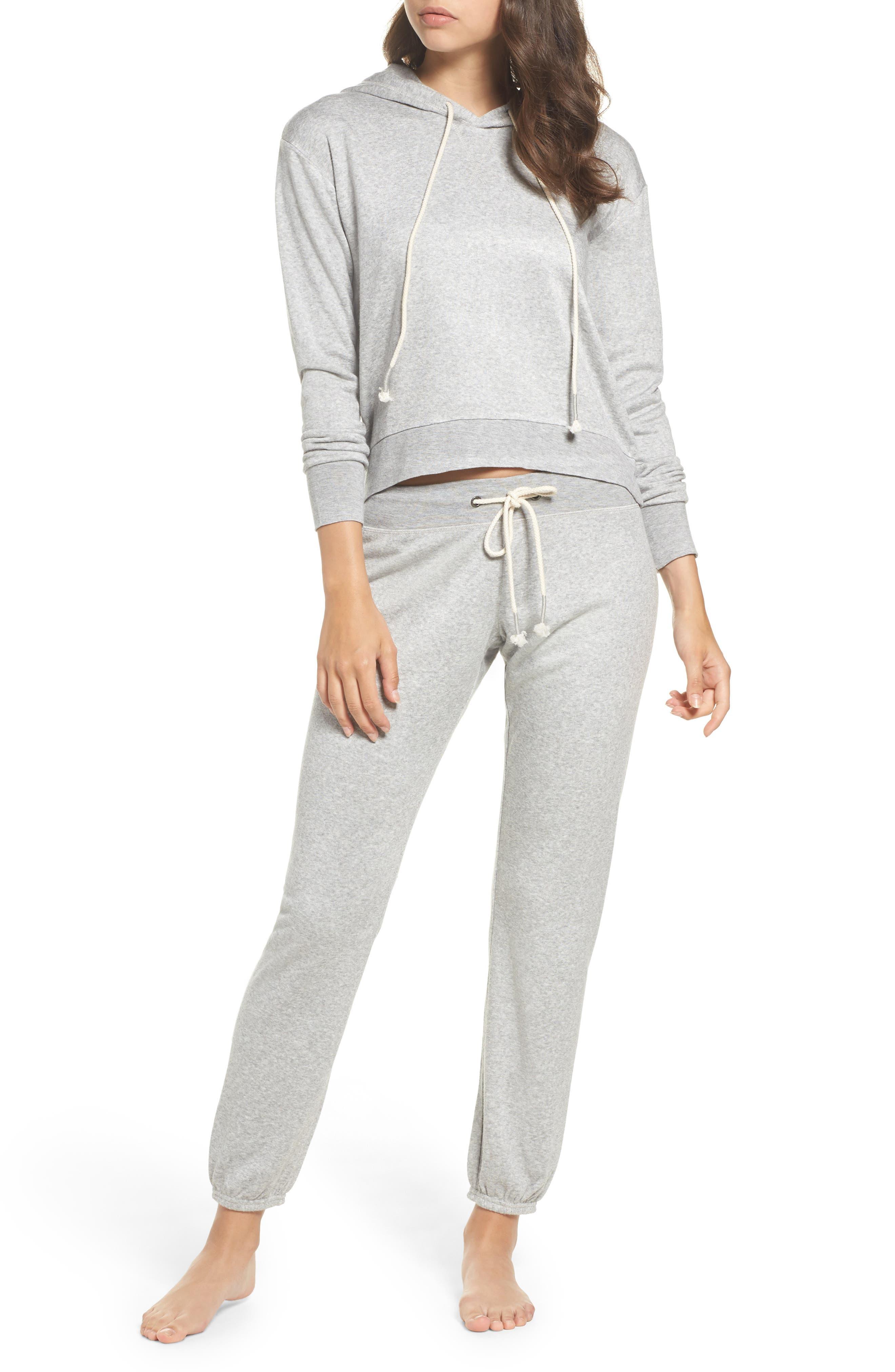 Alternate Image 4  - Make + Model Dreamy Fleece Jogger Pants