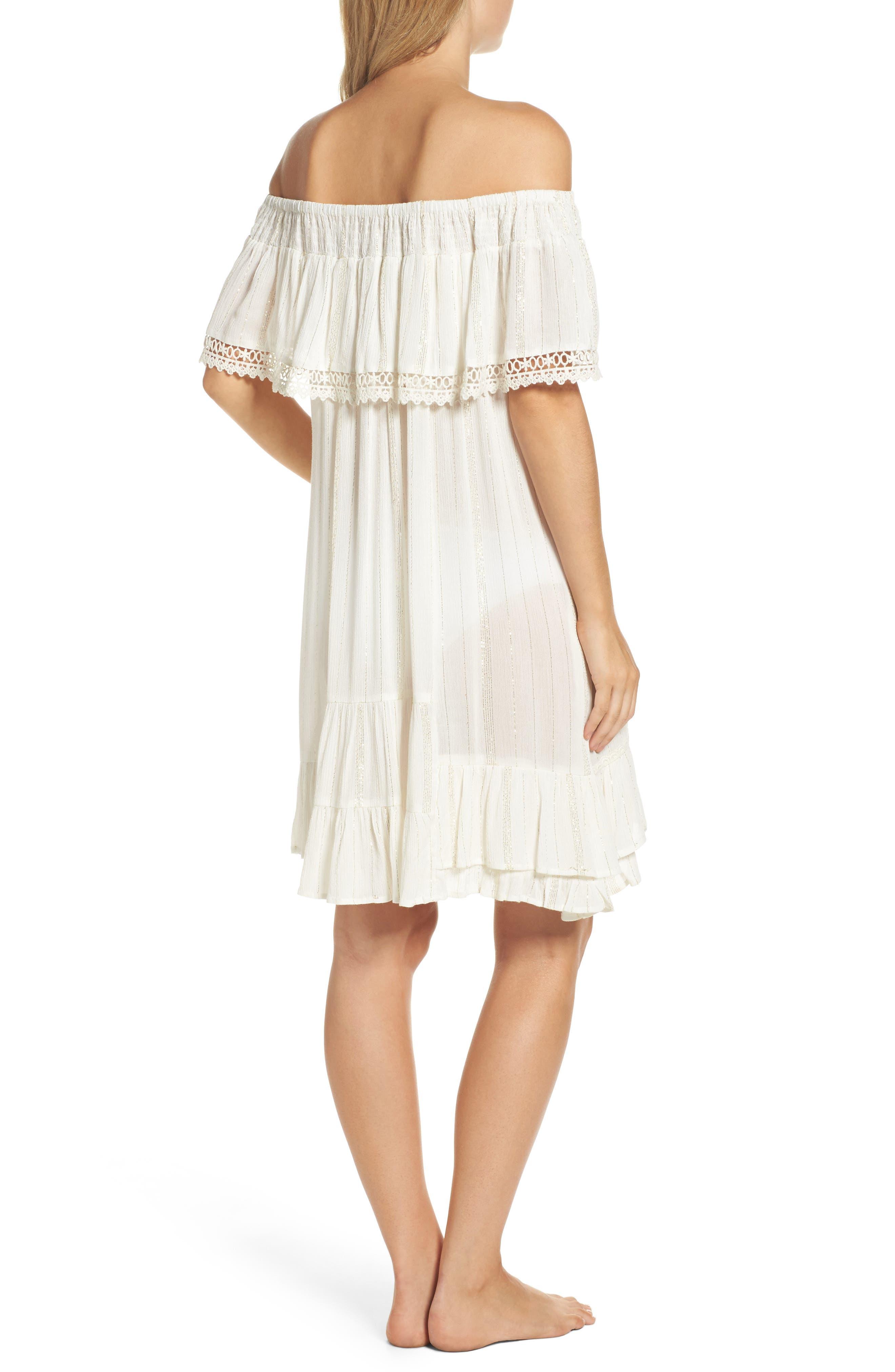 Alternate Image 2  - Muche et Muchette Iris Ruffle Cover-Up Dress
