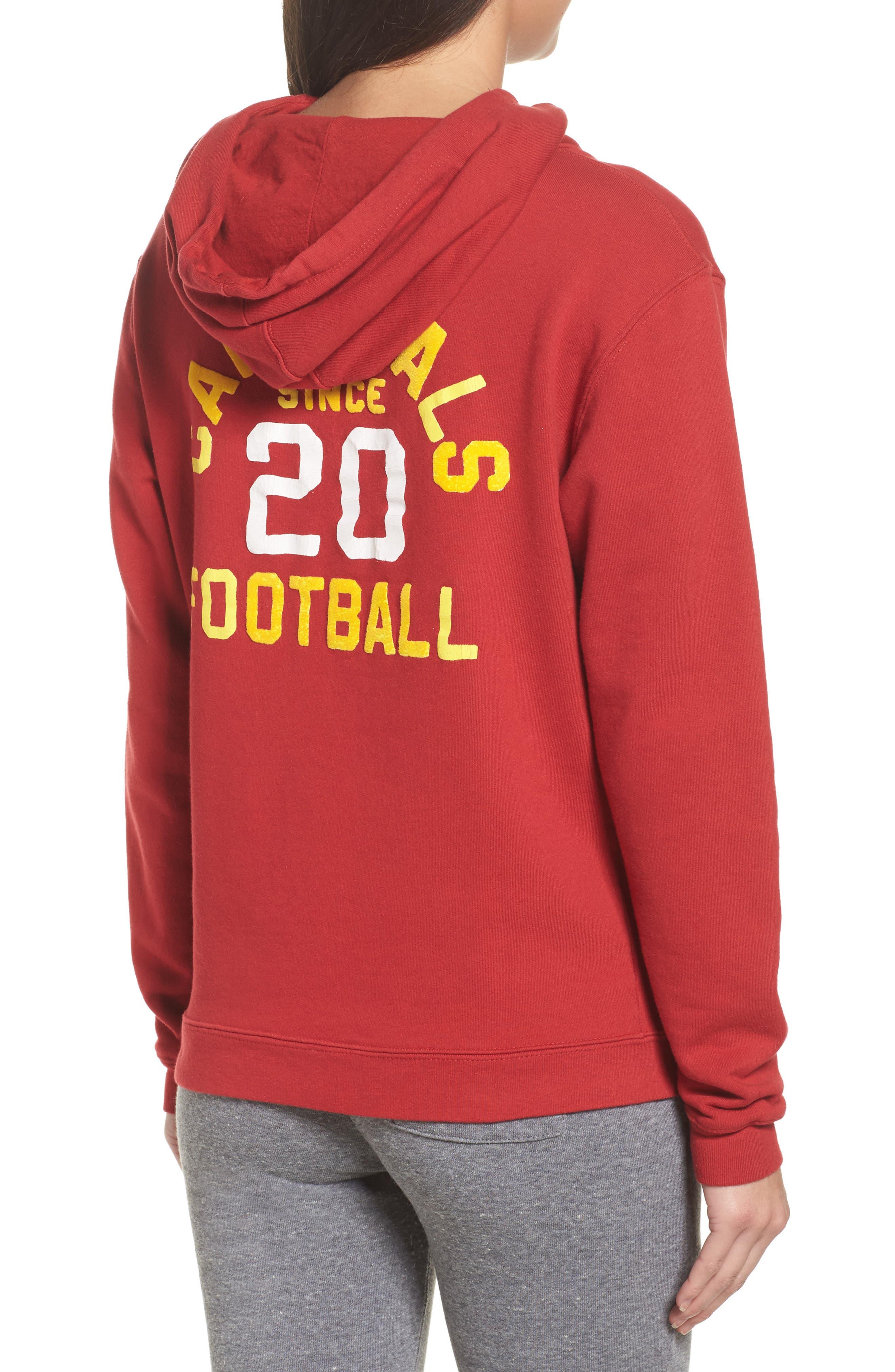 NFL Arizona Cardinals Sunday Hoodie,                             Alternate thumbnail 2, color,                             Cardinal