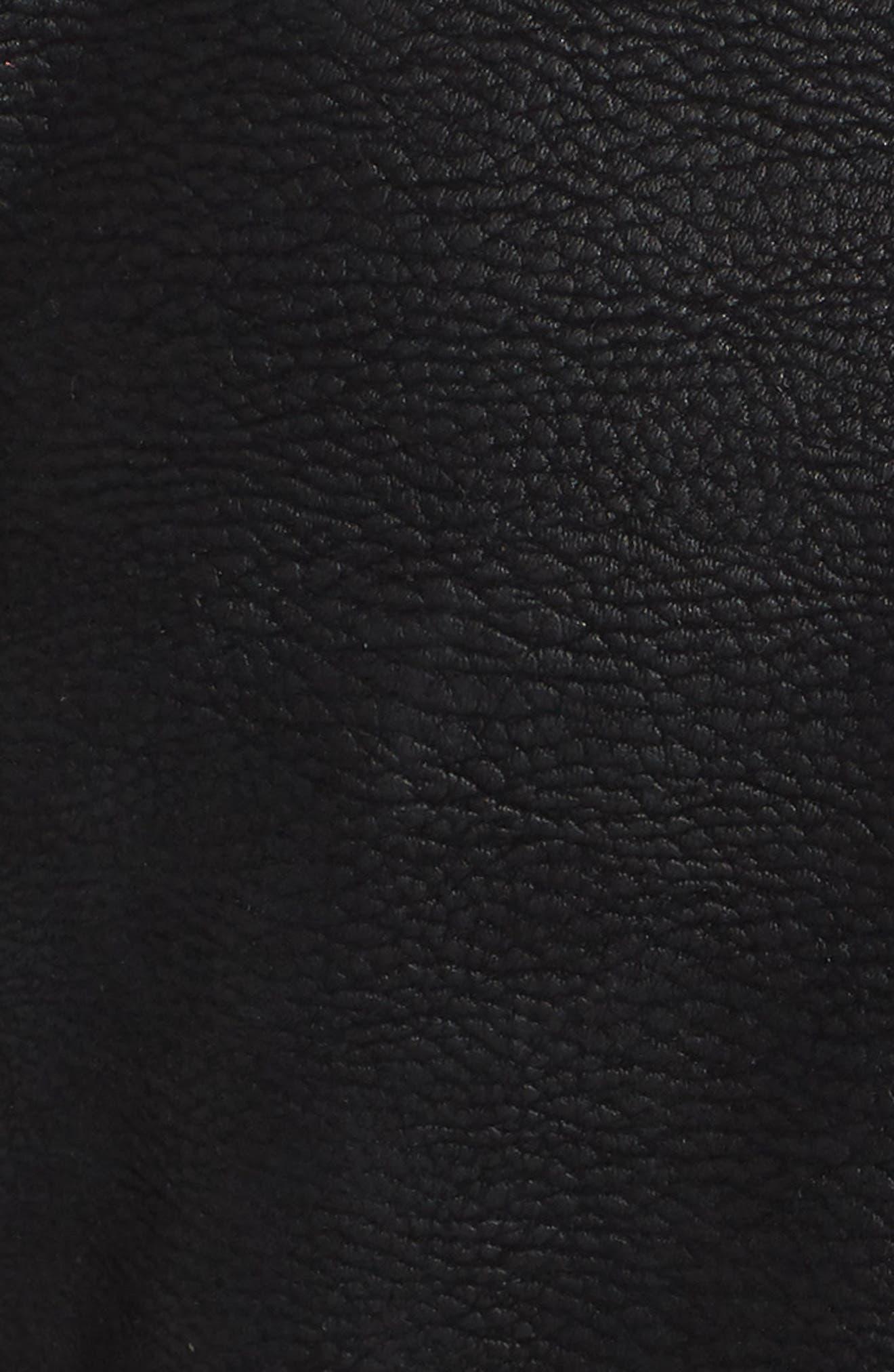 Alternate Image 5  - BP. Studded Faux Leather Moto Jacket