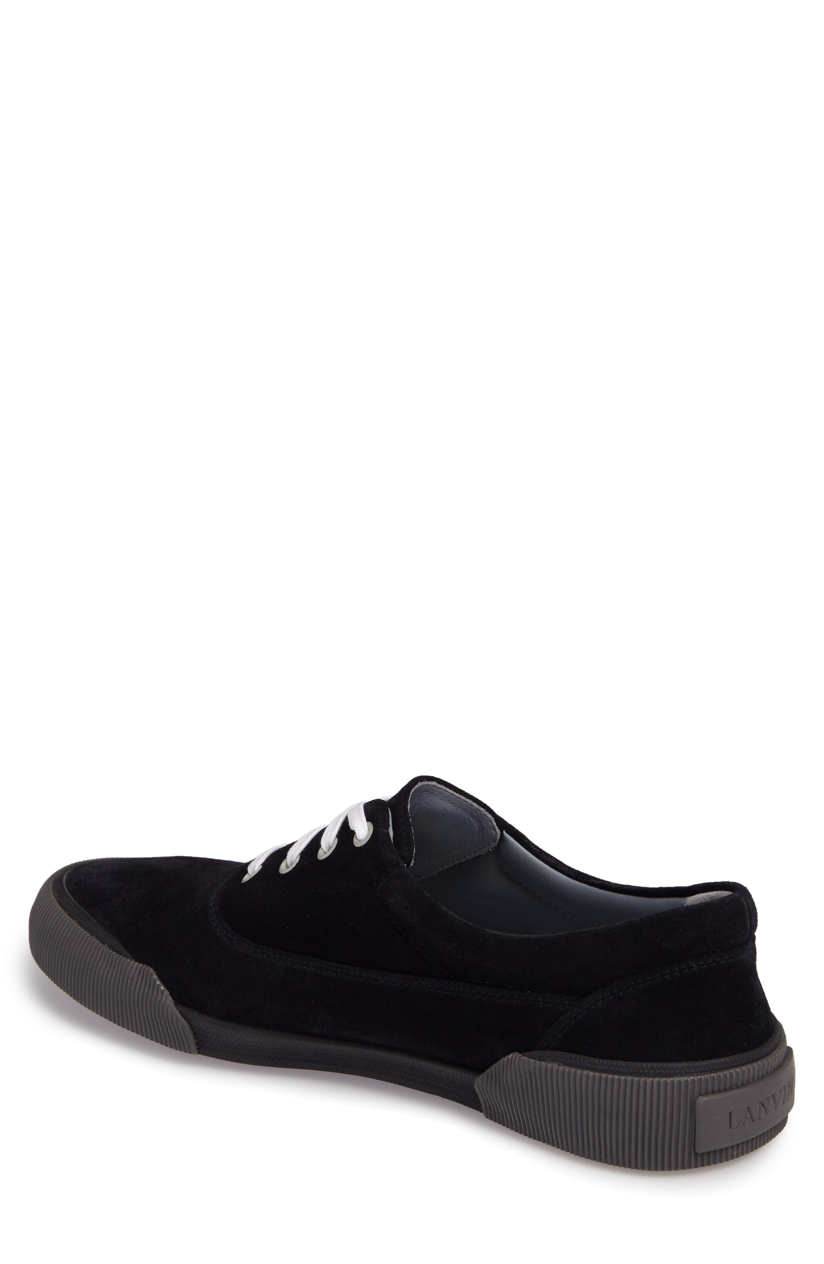 Alternate Image 2  - Lanvin Suede Sneaker (Men)