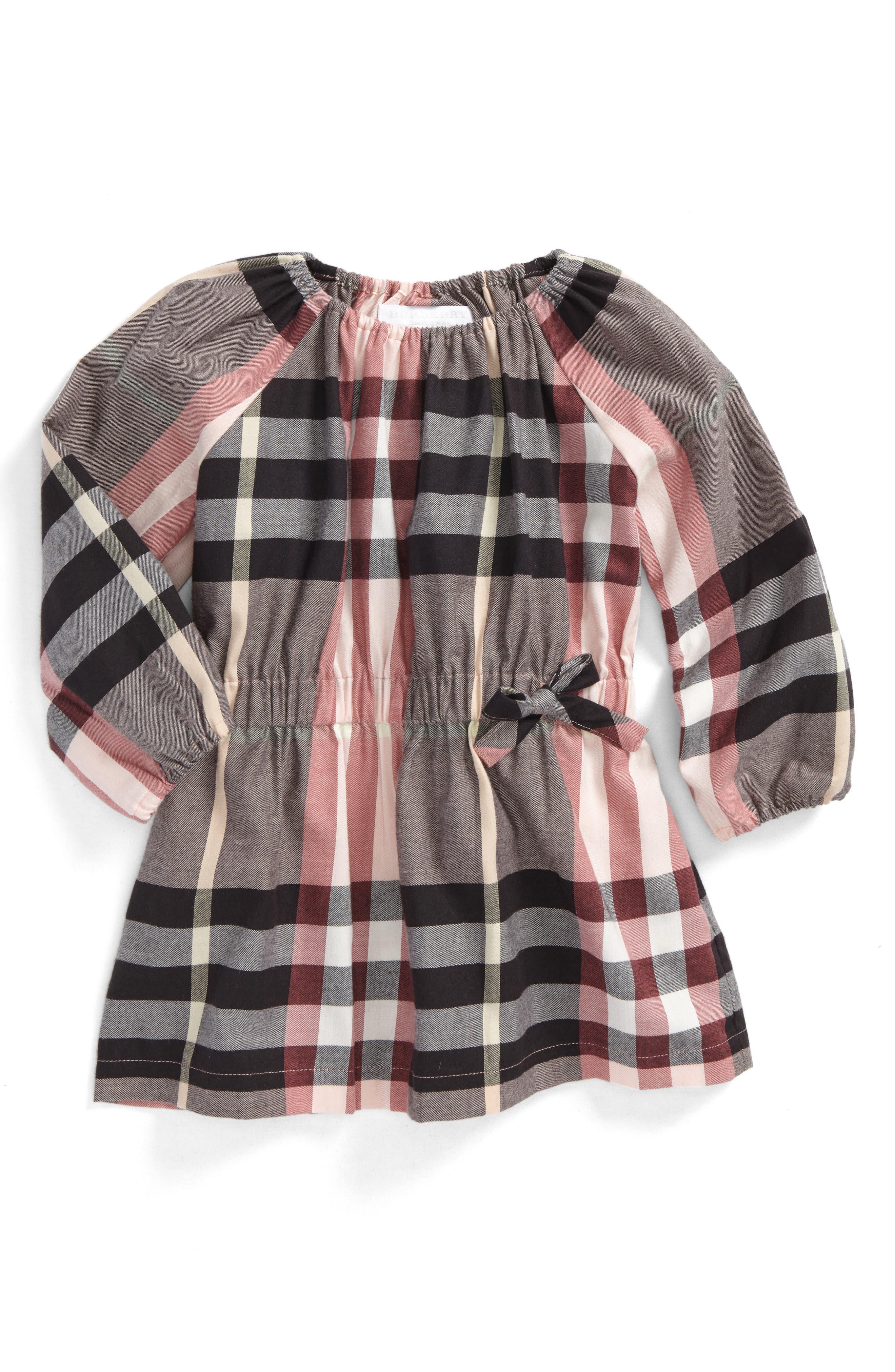 Burberry Mini Kadyann Check Flannel Dress (Baby Girls)