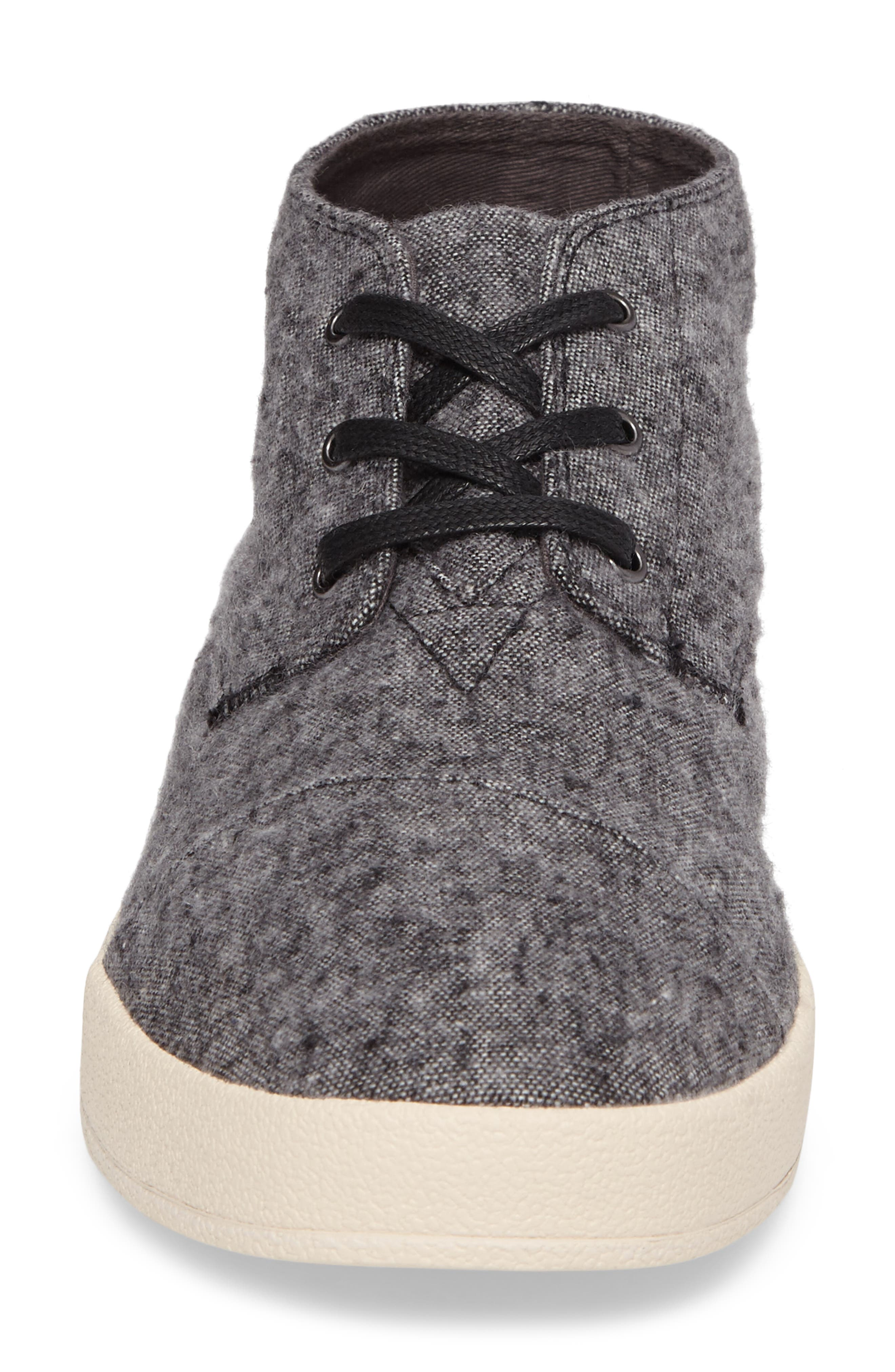 'Paseo Mid' Sneaker,                             Alternate thumbnail 3, color,                             Grey/Grey