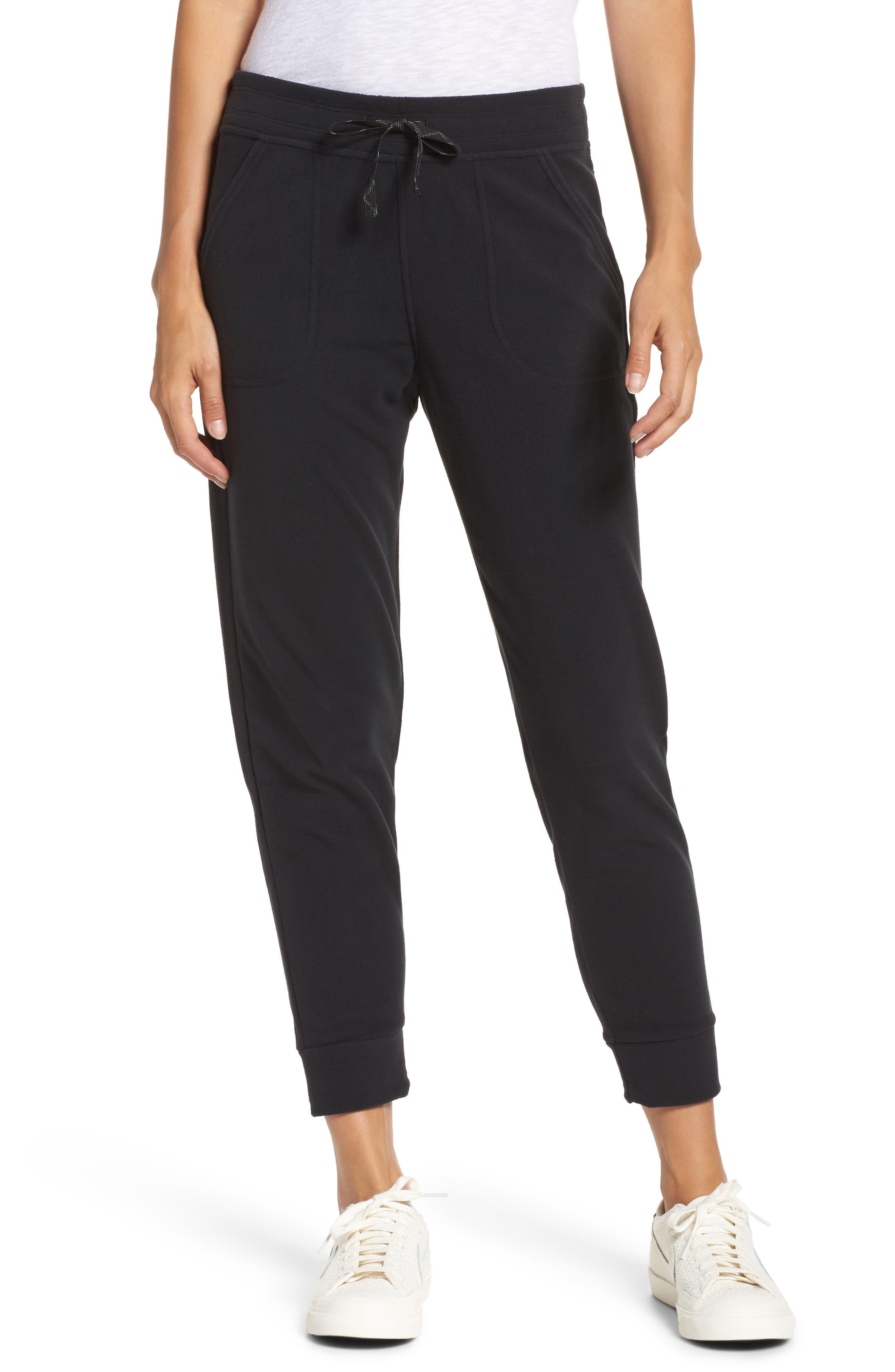 Snap-T Fleece Pants,                         Main,                         color, Black