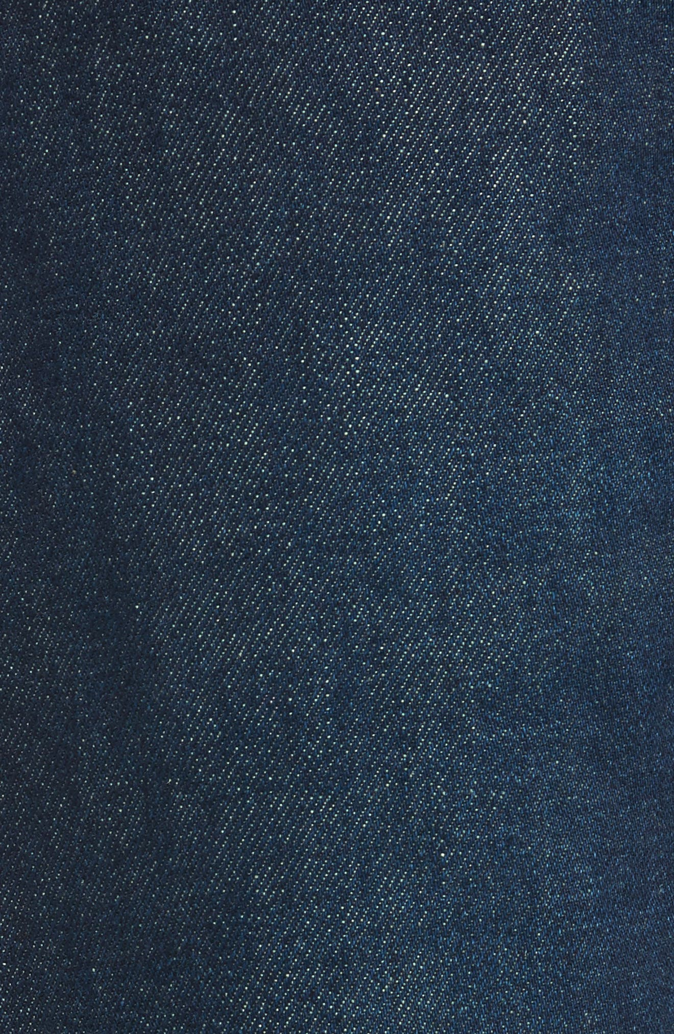 Alternate Image 5  - Levi's® 511™ Slim Fit Jeans (Selvedge)