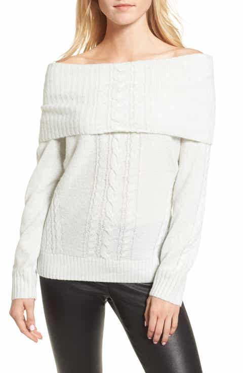 Women's White Long Sleeve Sweaters | Nordstrom