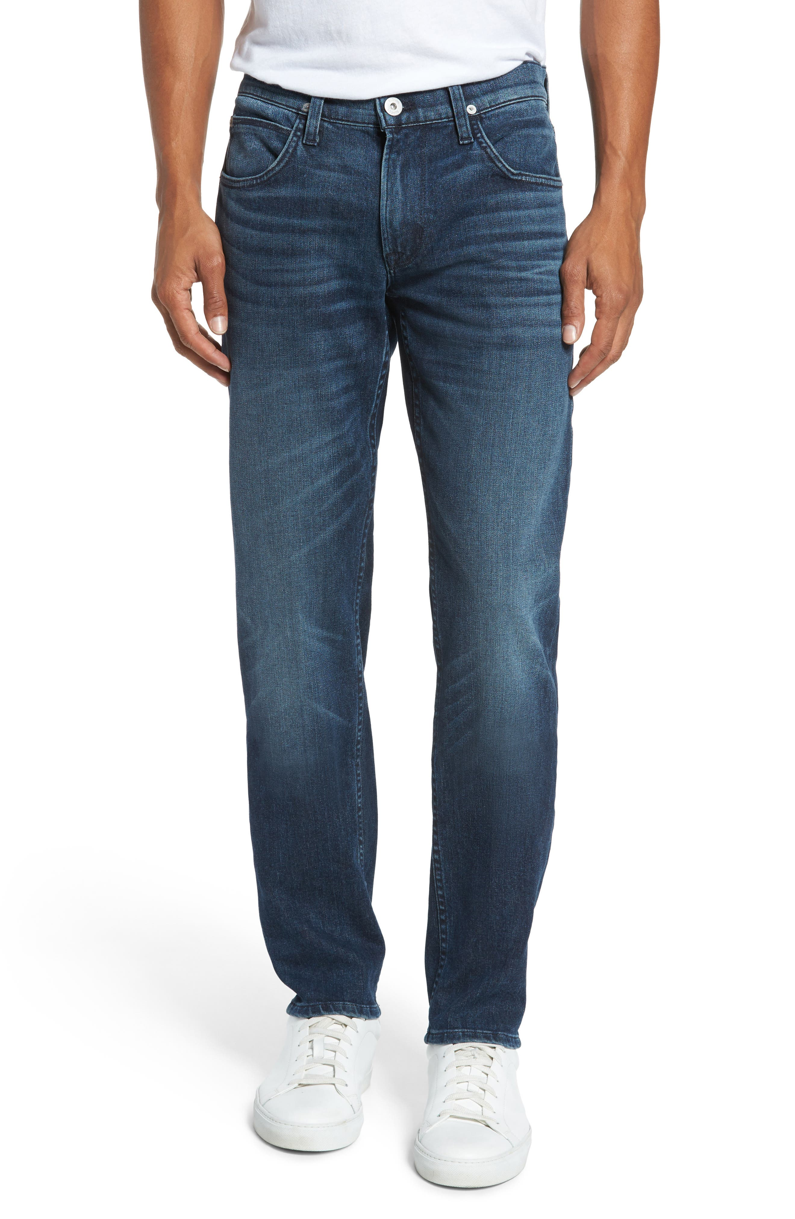 Blake Slim Fit Jeans,                             Main thumbnail 1, color,                             Regret