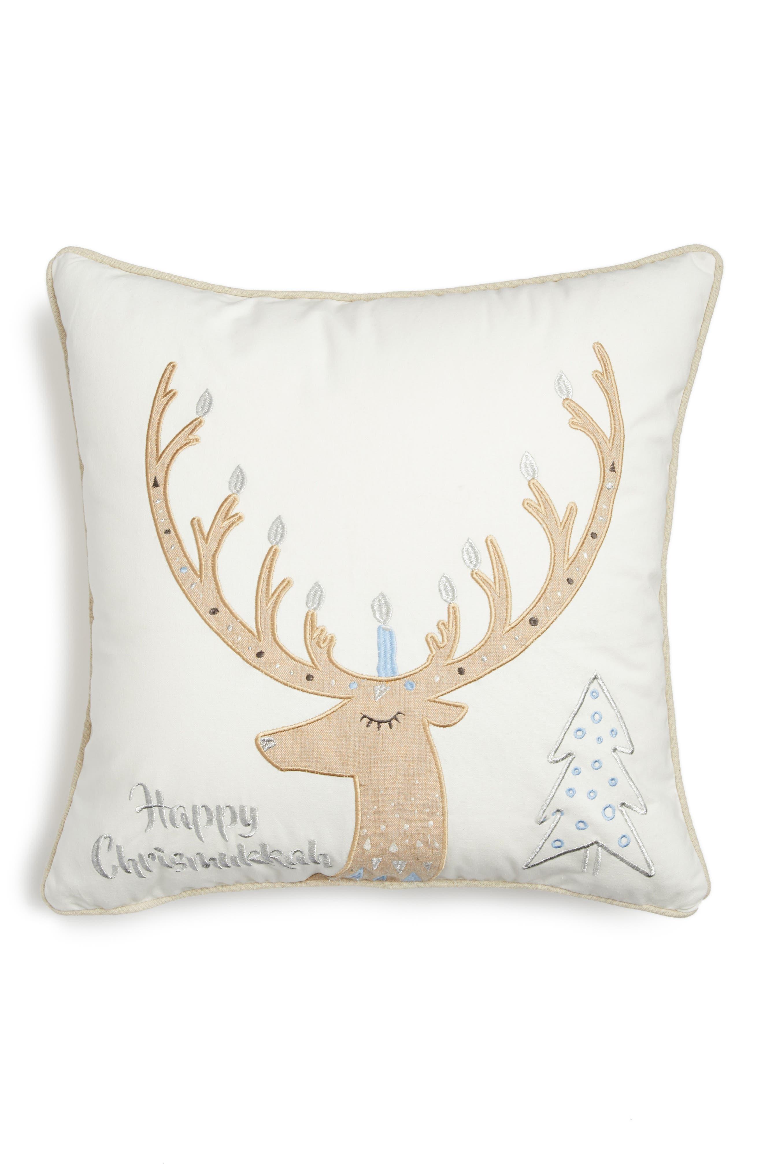 Levtex Happy Chrismukkah Accent Pillow