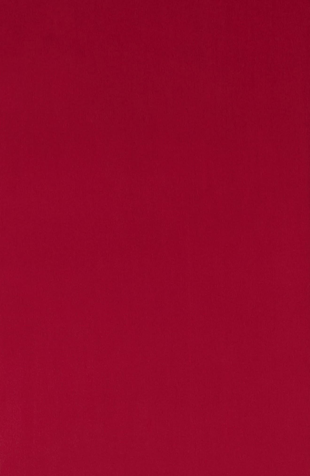 Beaded Silk Scarf,                             Alternate thumbnail 3, color,                             Hibiscus
