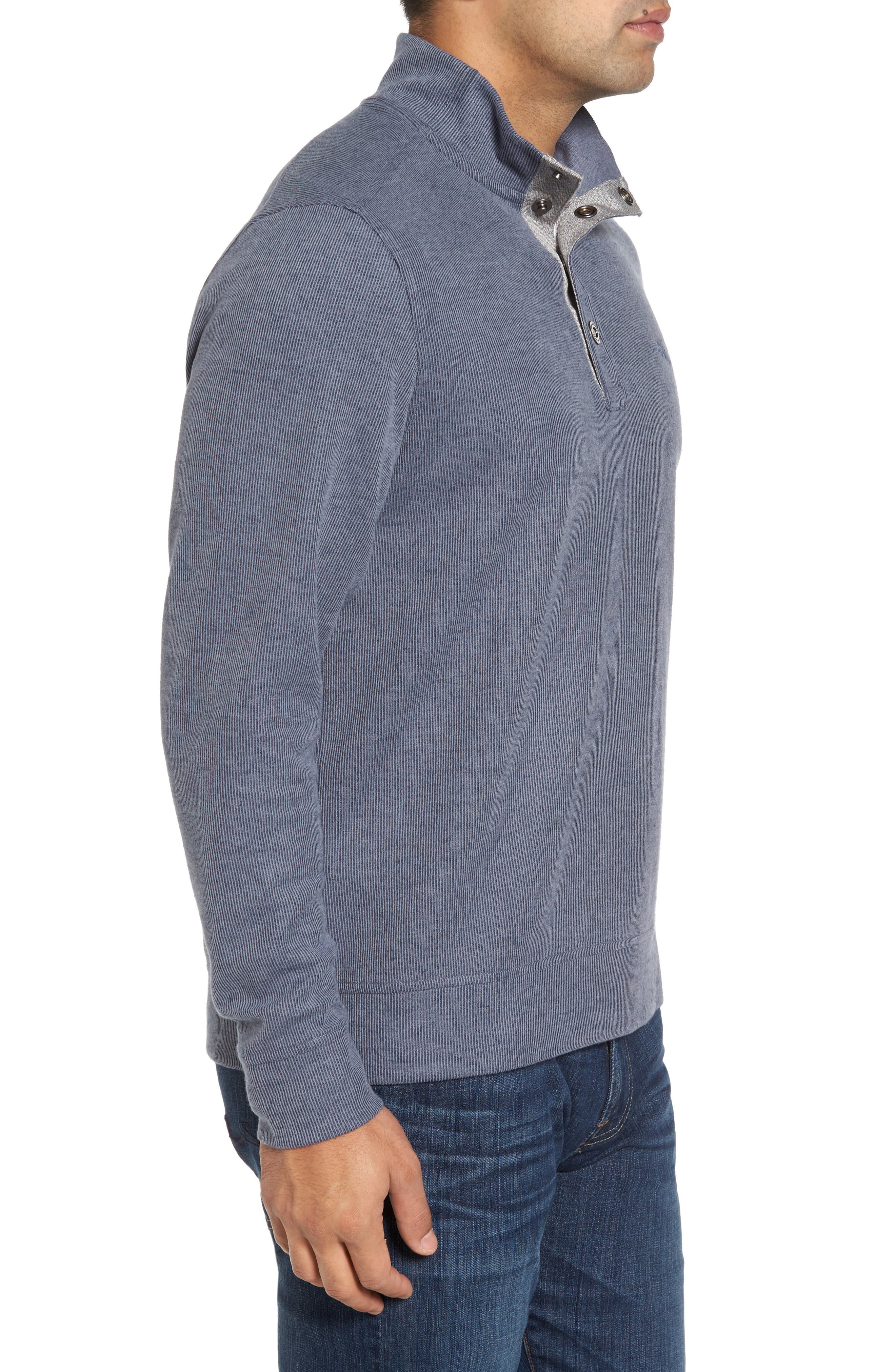 Alternate Image 3  - Tommy Bahama Cold Springs Snap Mock Neck Sweater