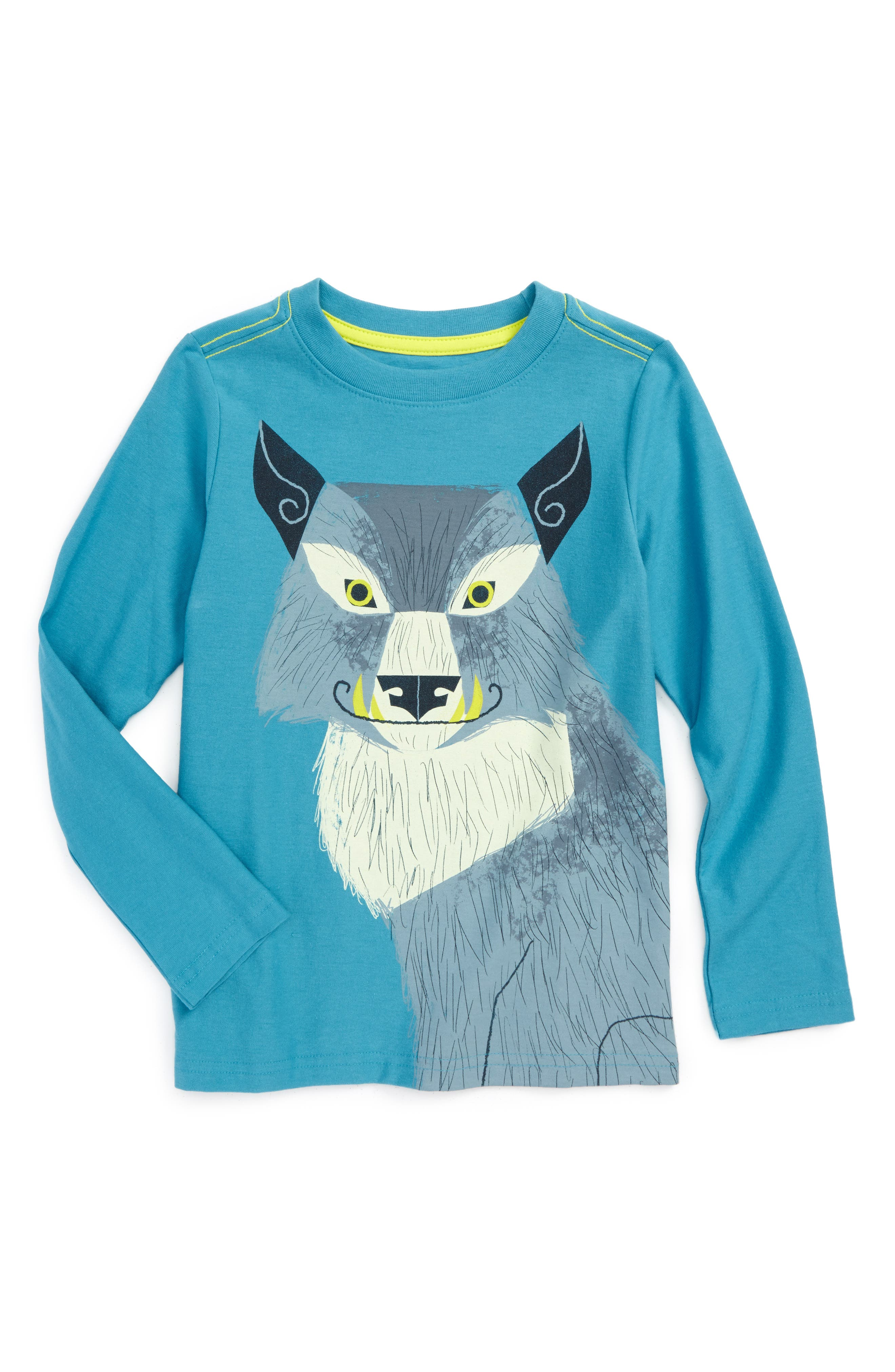 Wulver Graphic T-Shirt,                         Main,                         color, Turquoise