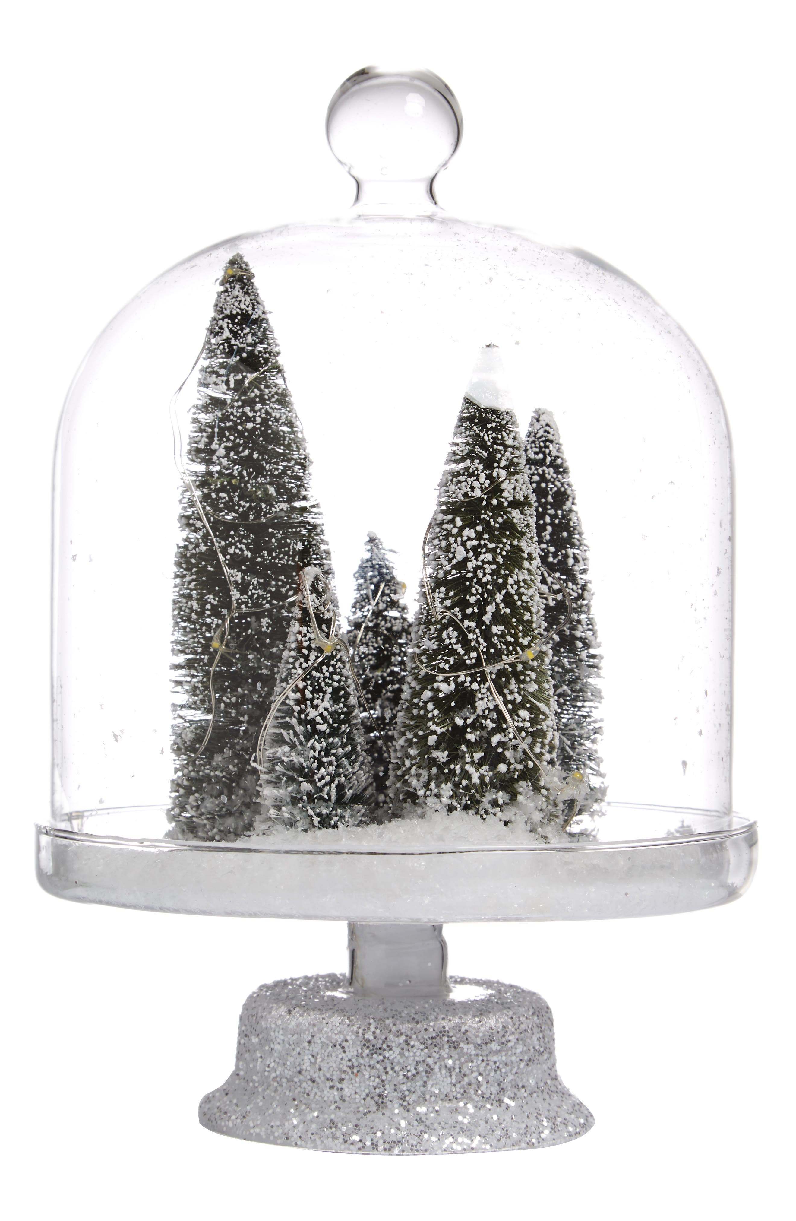 ALLSTATE Snowy Trees Lighted Decoration