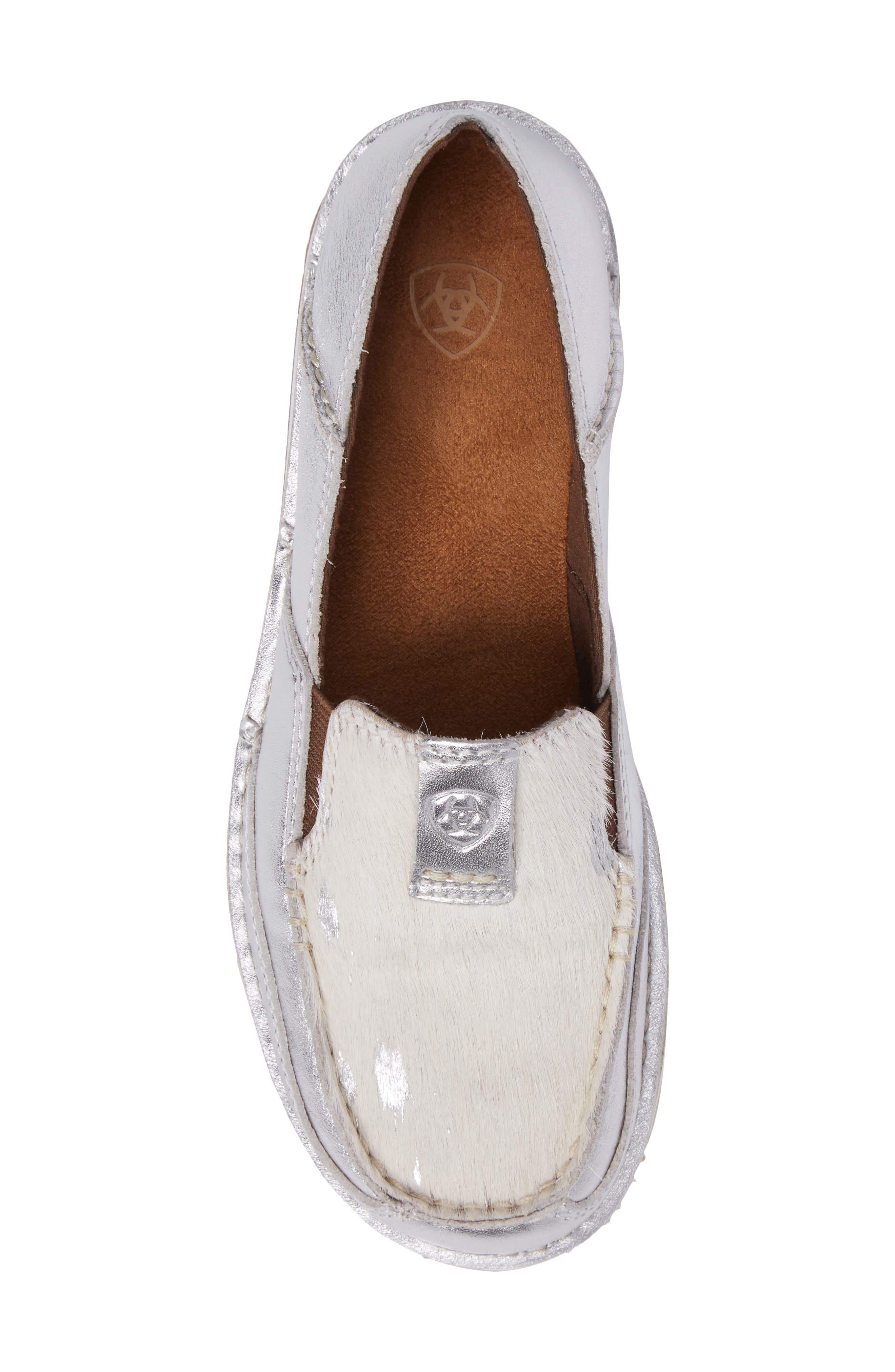 Alternate Image 5  - Ariat Cruiser Genuine Calf Hair Slip-On Loafer (Women)