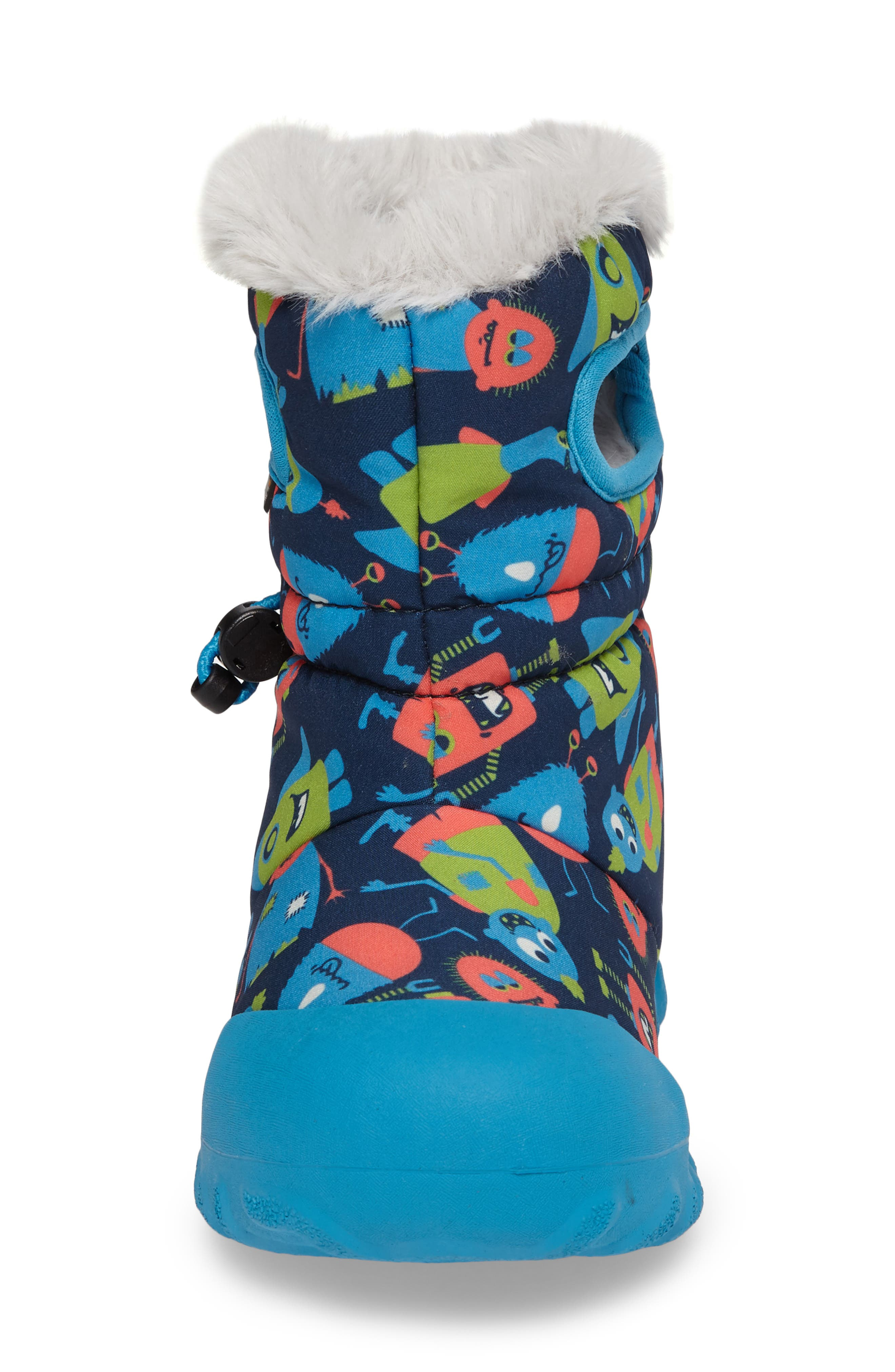 Alternate Image 4  - Bogs B-MOC Monsters Waterproof Insulated Faux Fur Boot (Toddler & Little Kid)
