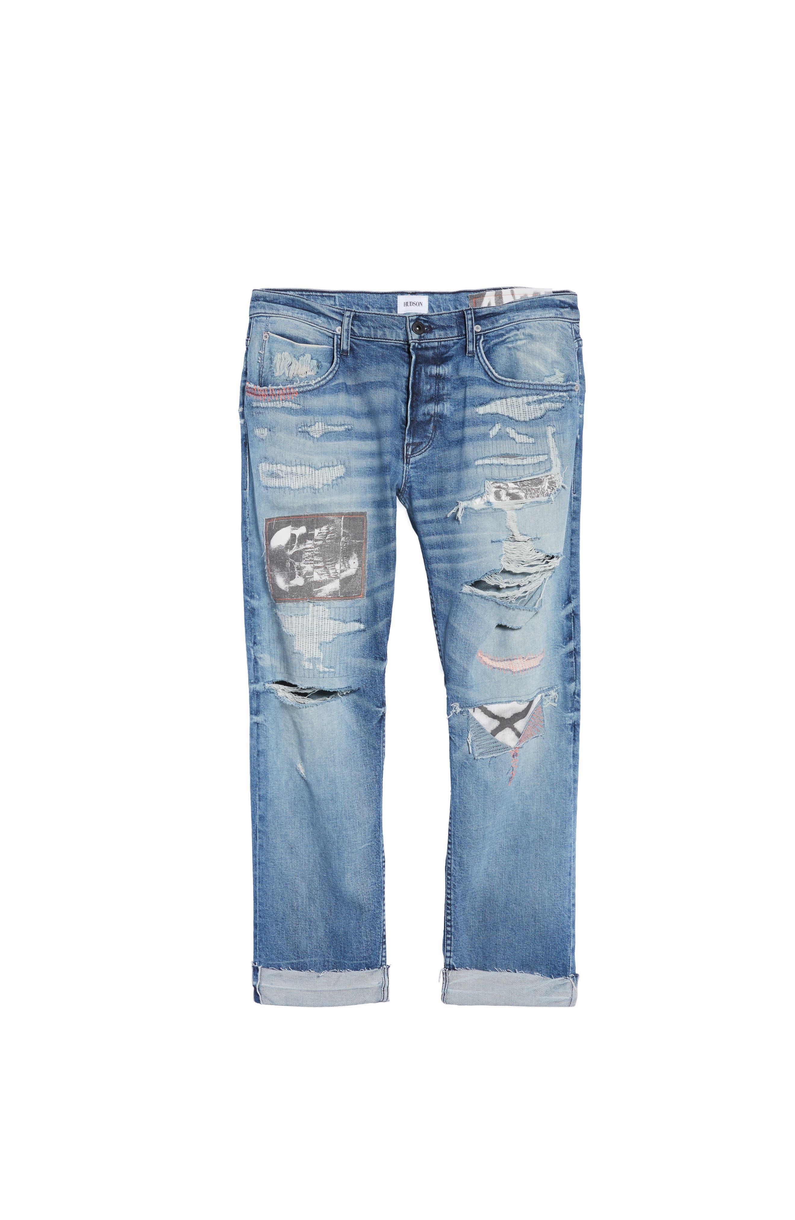 Blake Slim Fit Jeans,                             Alternate thumbnail 6, color,                             Public Enemy