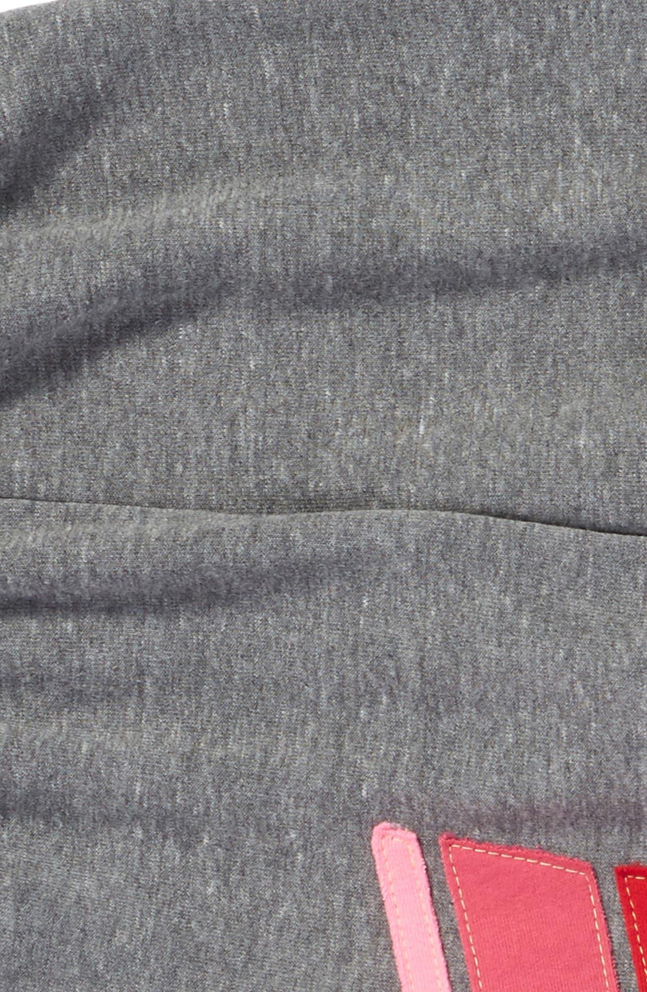 Sport Sweatpants,                             Alternate thumbnail 2, color,                             Heather Grey/ Pink