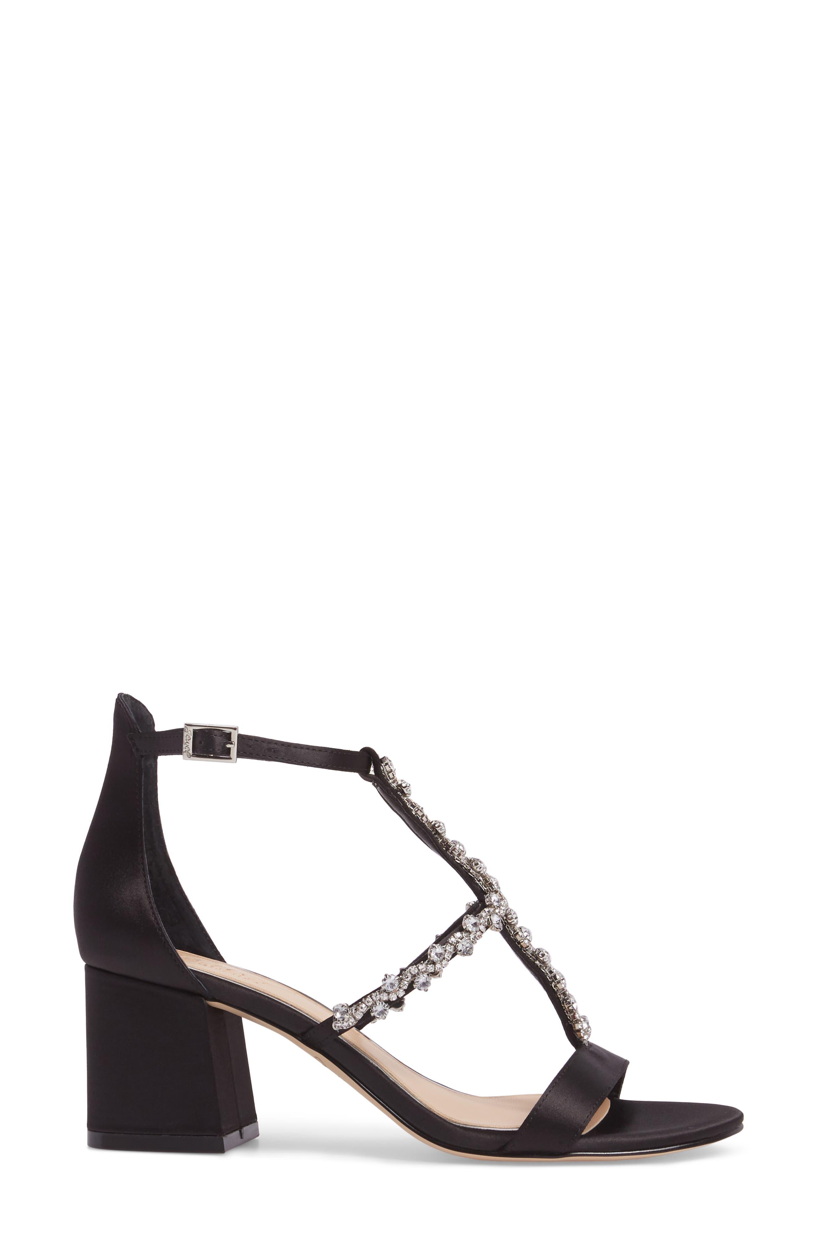 Alternate Image 3  - Jewel Badgley Mischka Alamea Block Heel Sandal (Women)