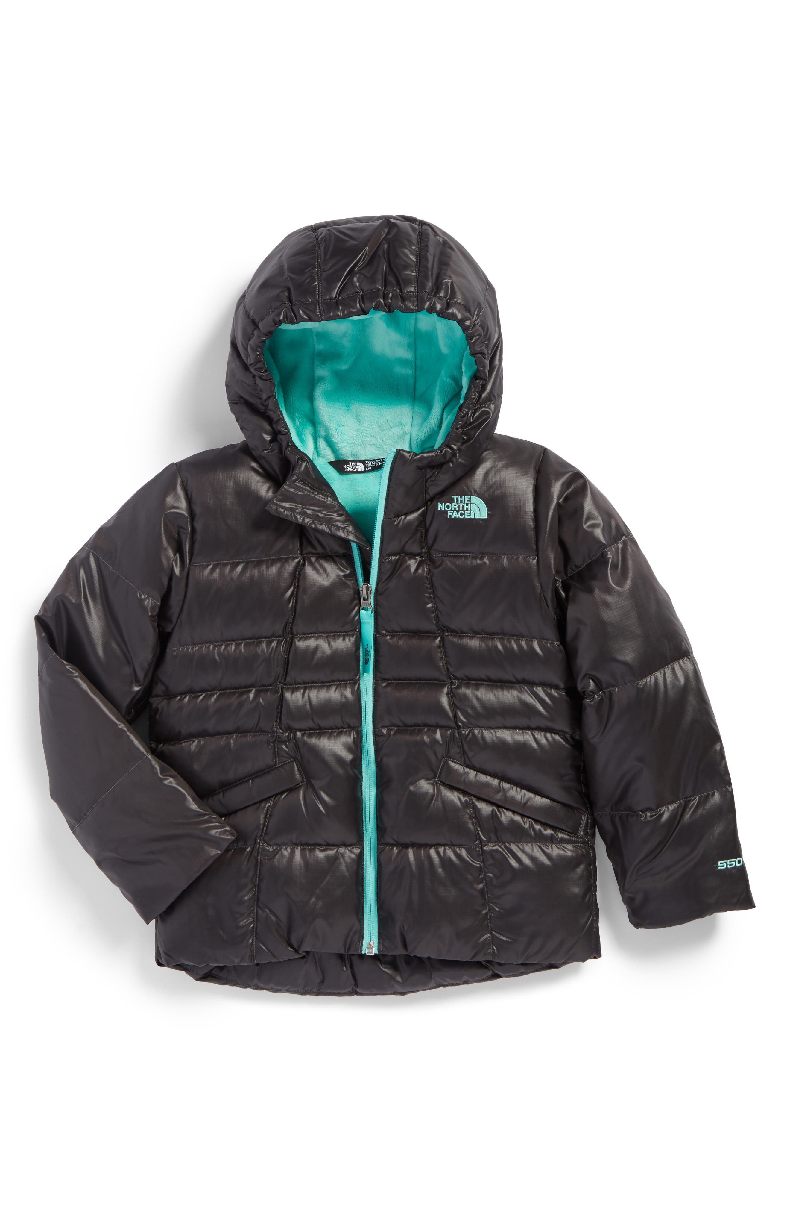 Main Image - The North Face Moondoggy 2.0 Water Repellent Jacket (Toddler Girls)