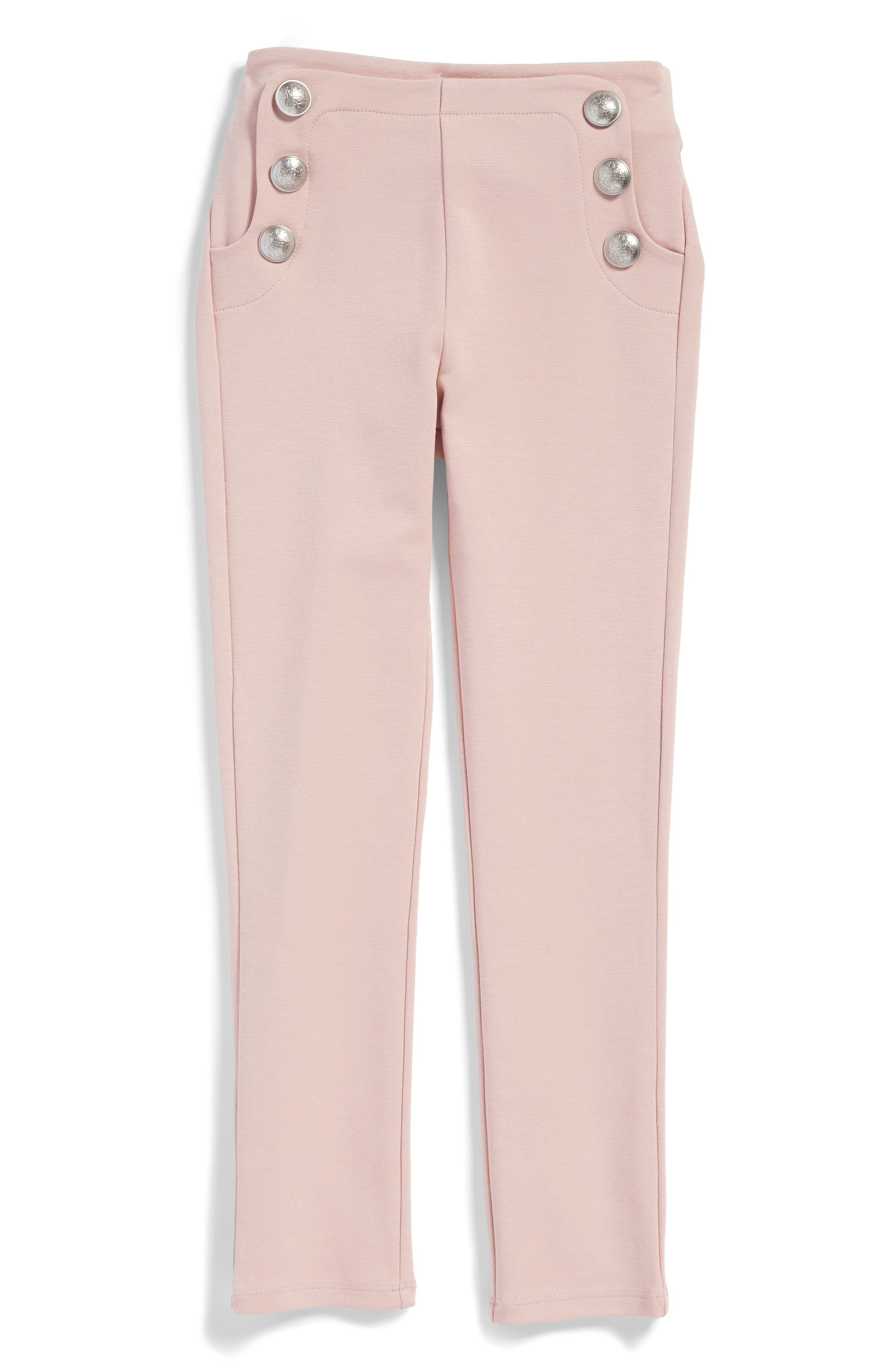 Bardot Junior Button Leggings (Little Girls)
