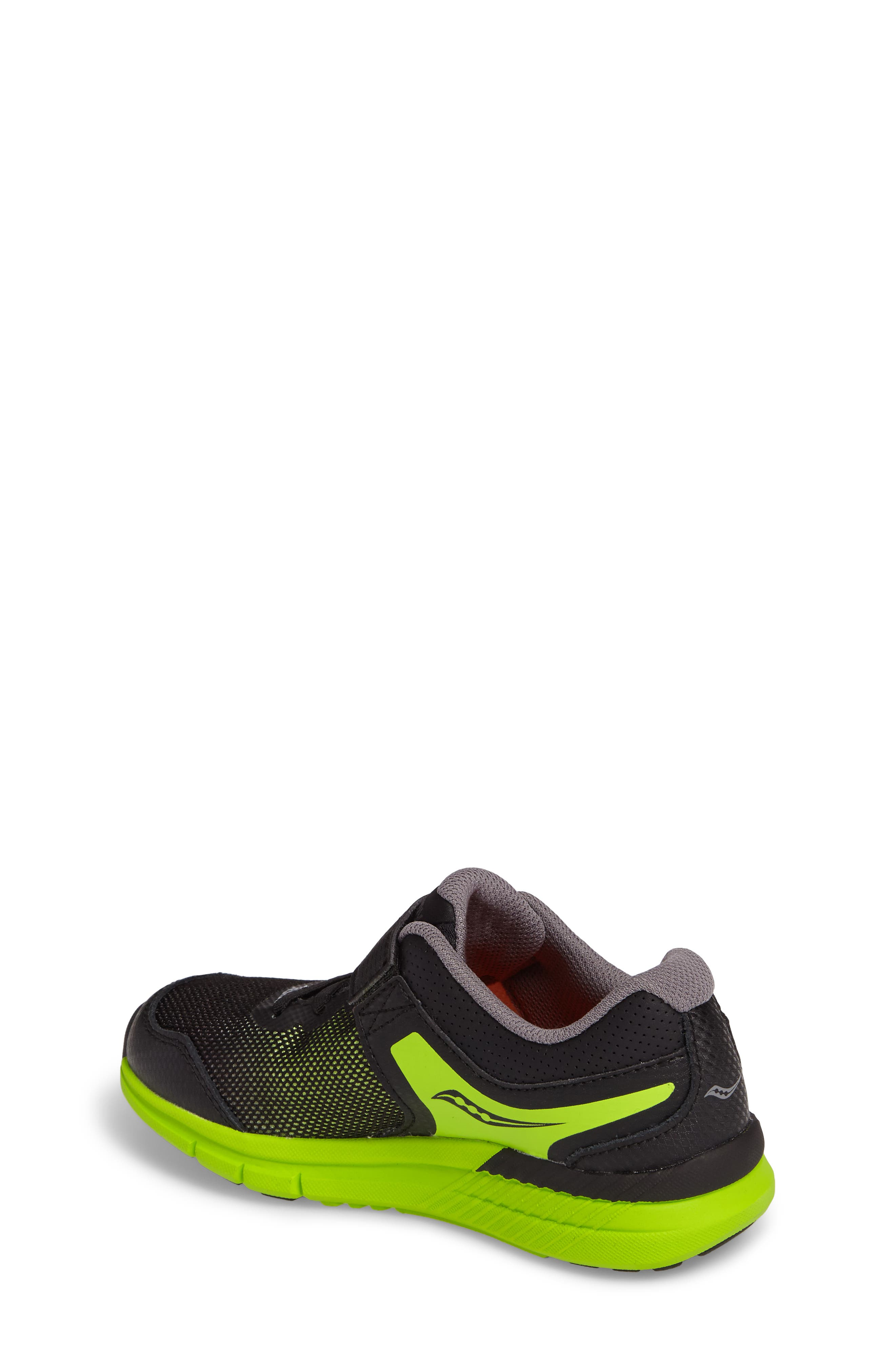 Velocity A/C Sneaker,                             Alternate thumbnail 2, color,                             Black/ Green