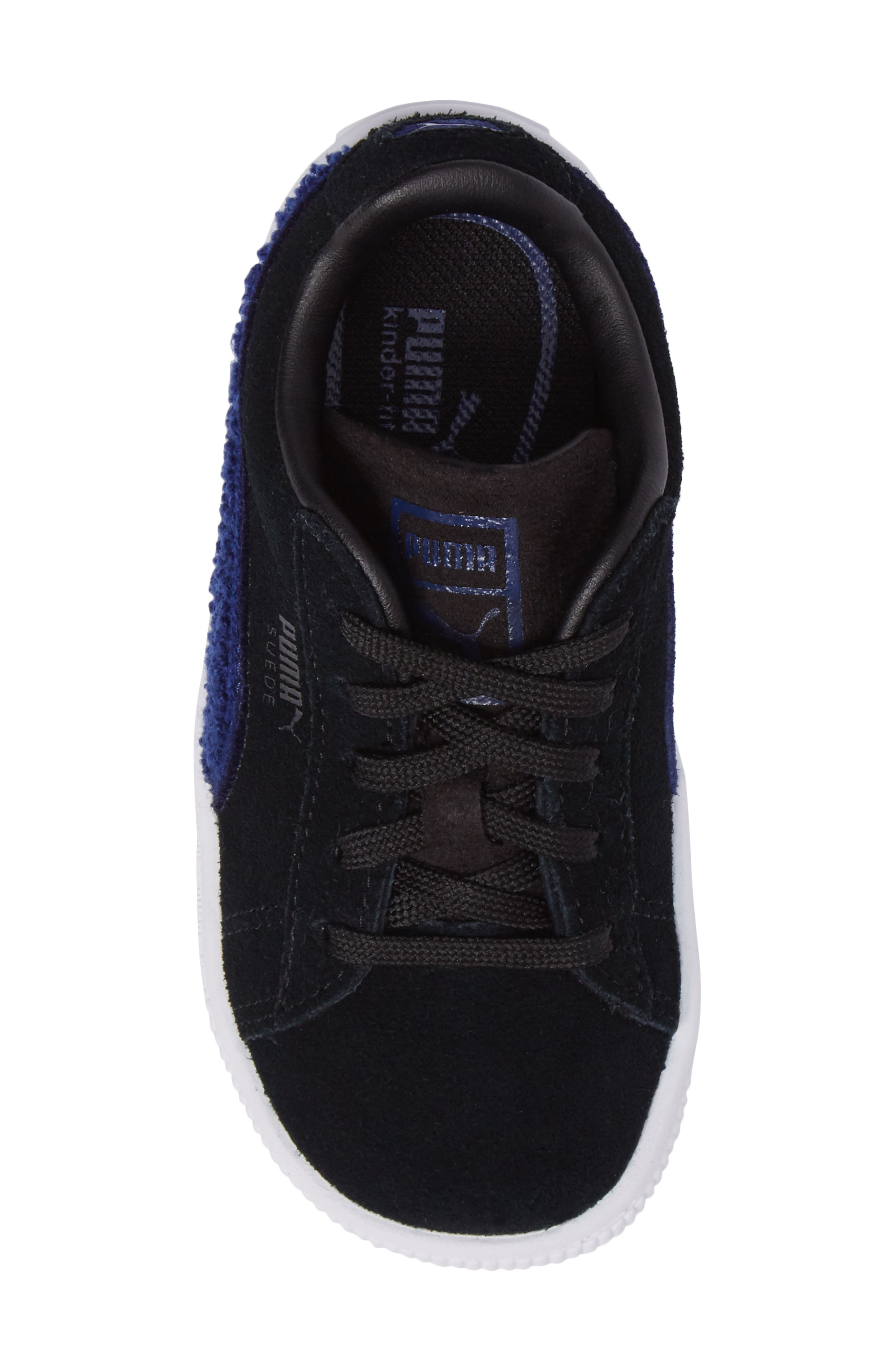 Alternate Image 5  - PUMA Classic Terry Sneaker (Baby, Walker & Toddler)