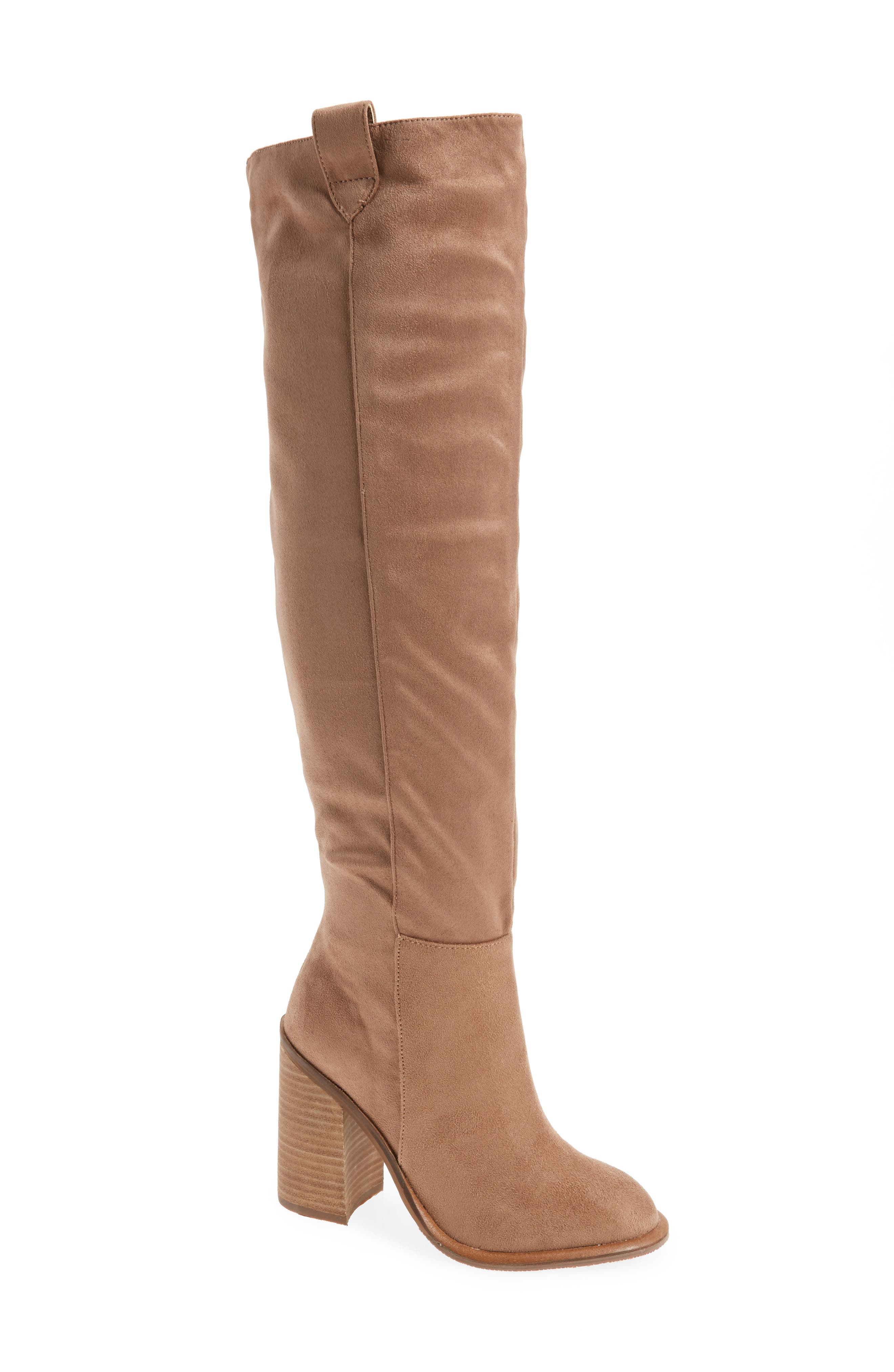 Very Volatile Nate Over the Knee Boot (Women)