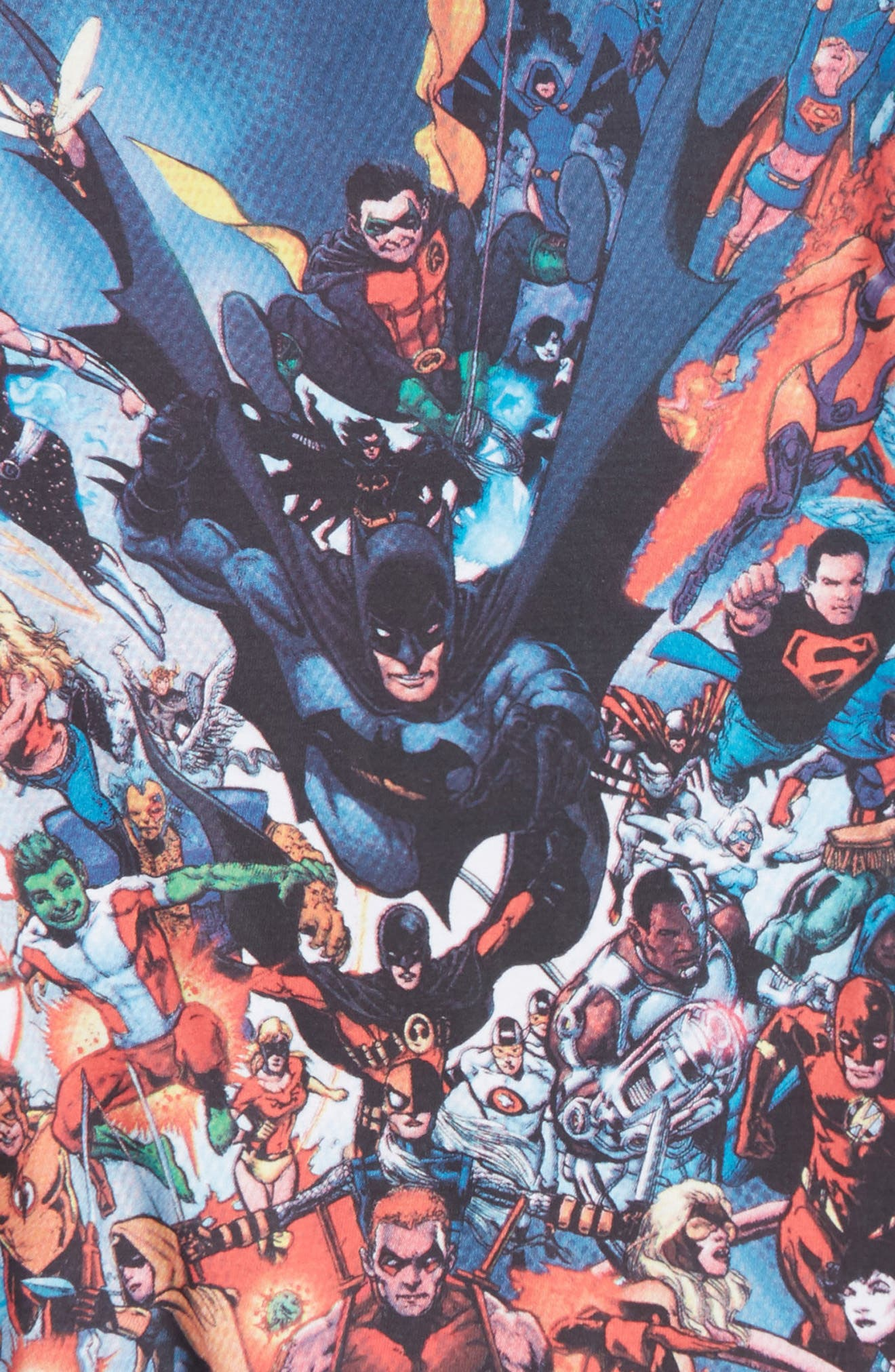 Justice League Superhero T-Shirt,                             Alternate thumbnail 2, color,                             Multi