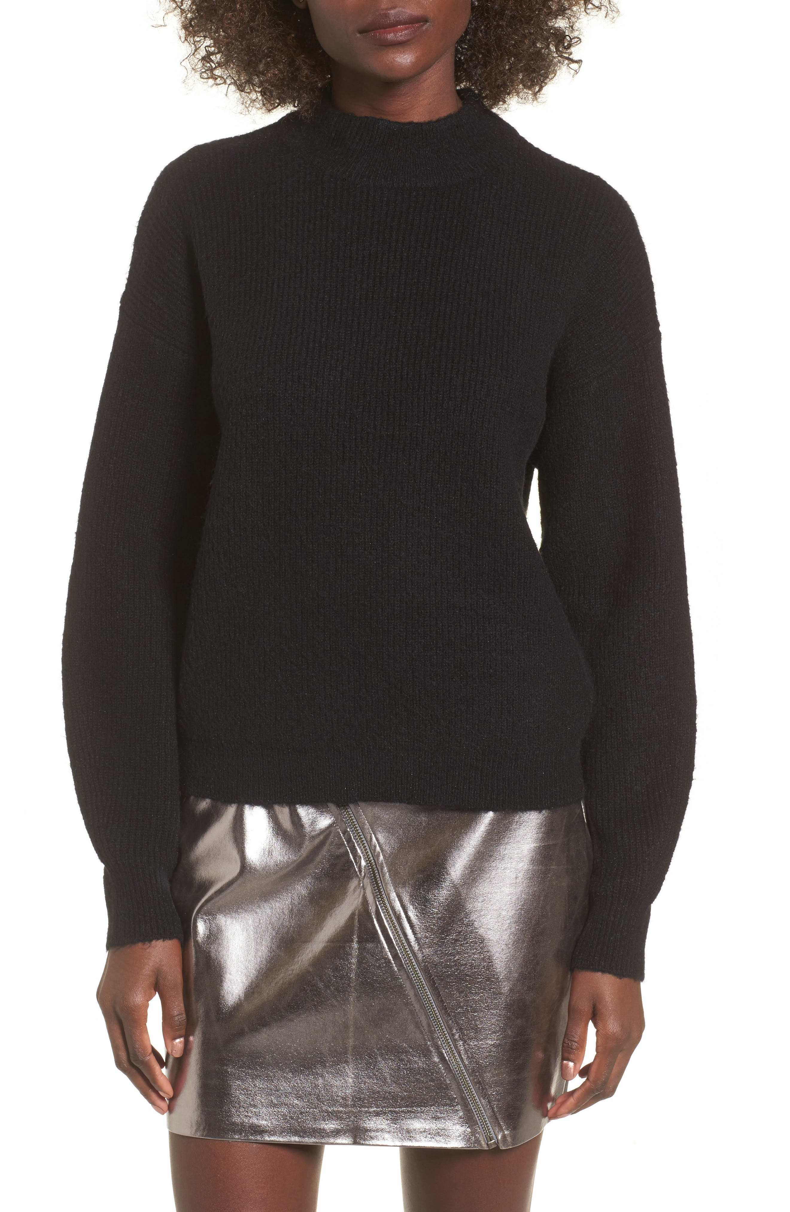 Leith Cozy Ribbed Pullover