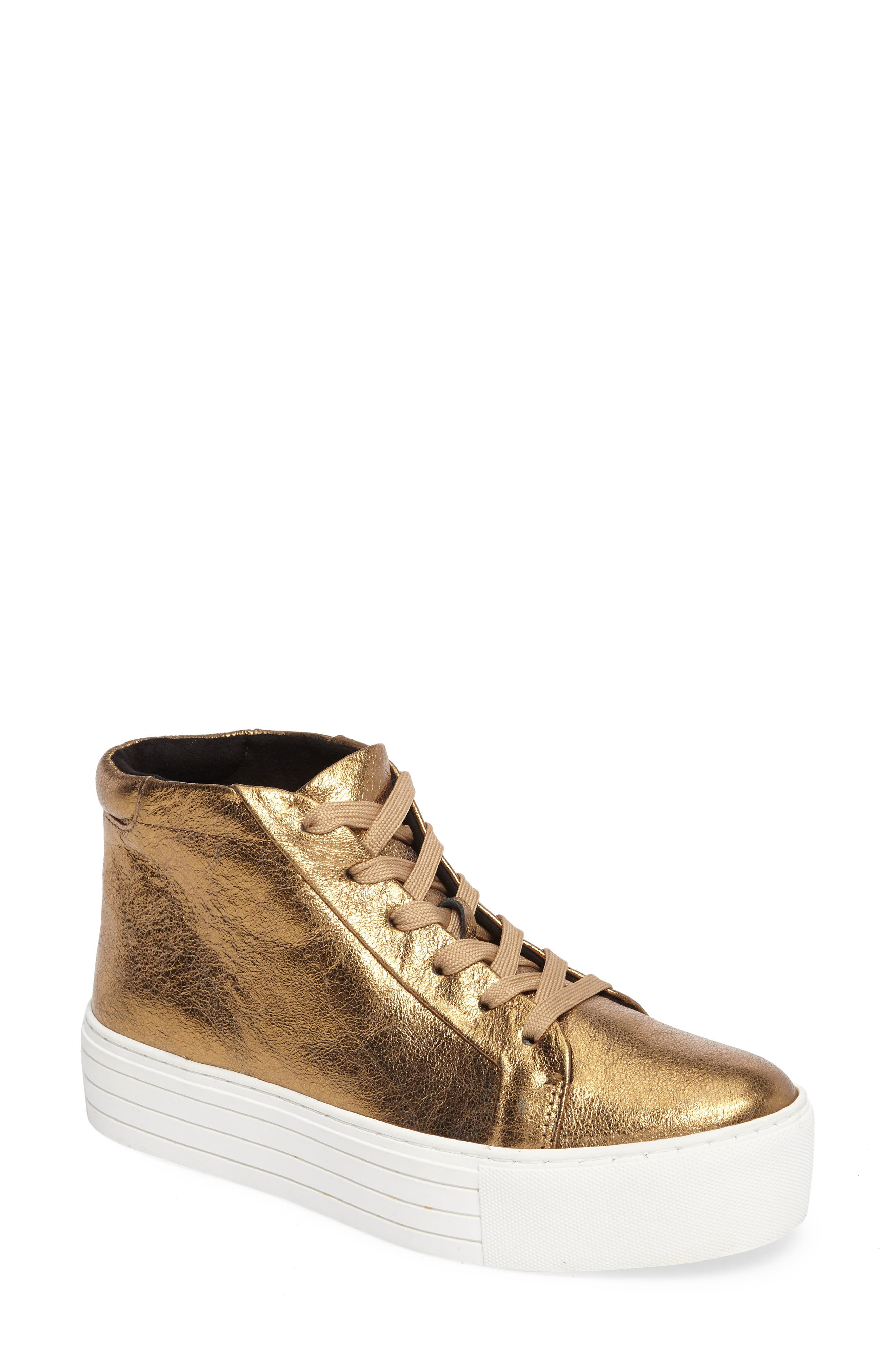 Kenneth Cole New York Janette High Top Platform Sneaker (Women)