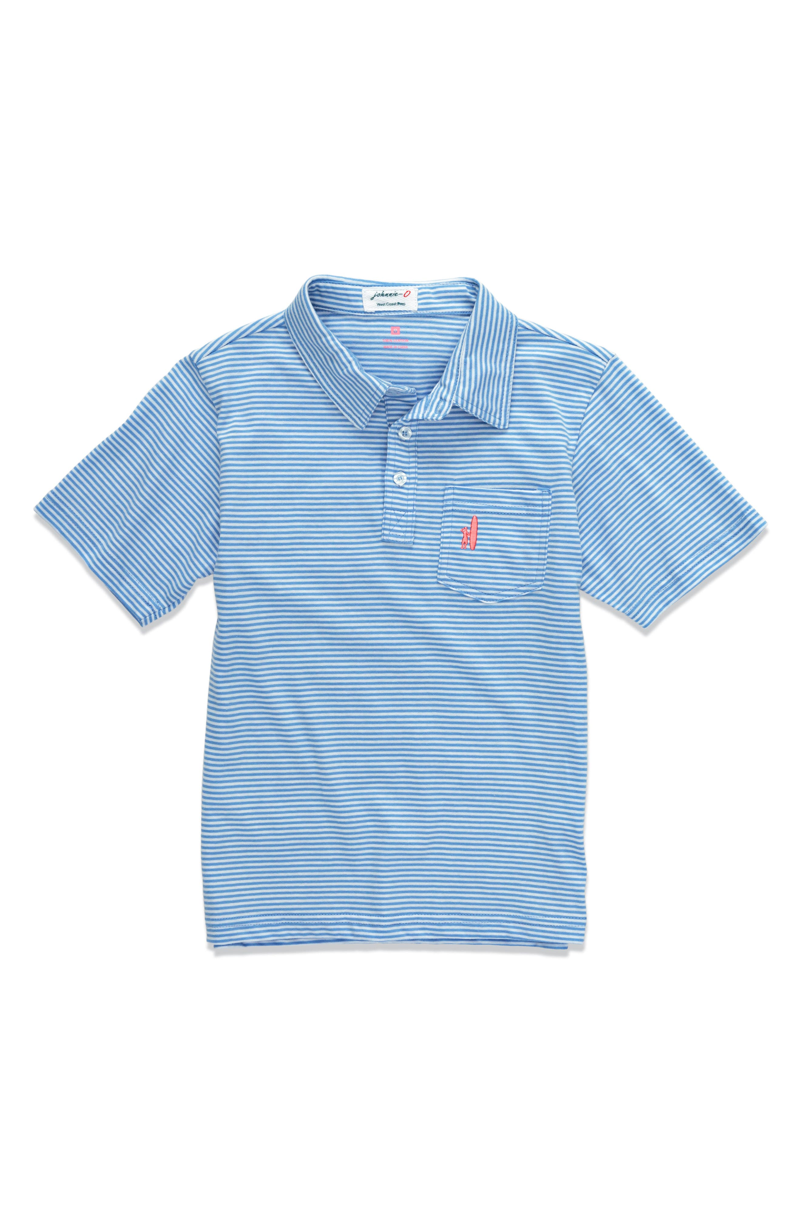 johnnie-O Jack Striped Polo (Little Boys & Big Boys)