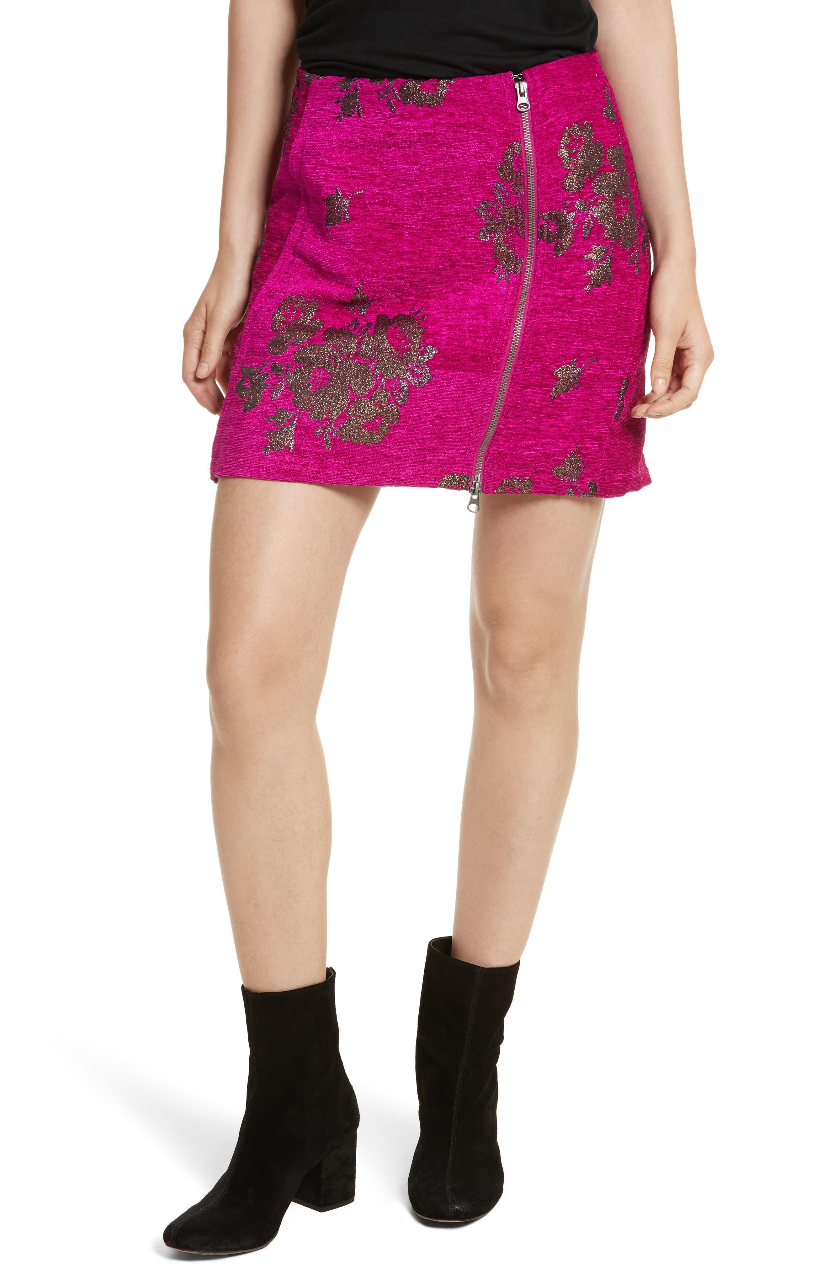 Alternate Image 1 Selected - Free People Movin' On Miniskirt