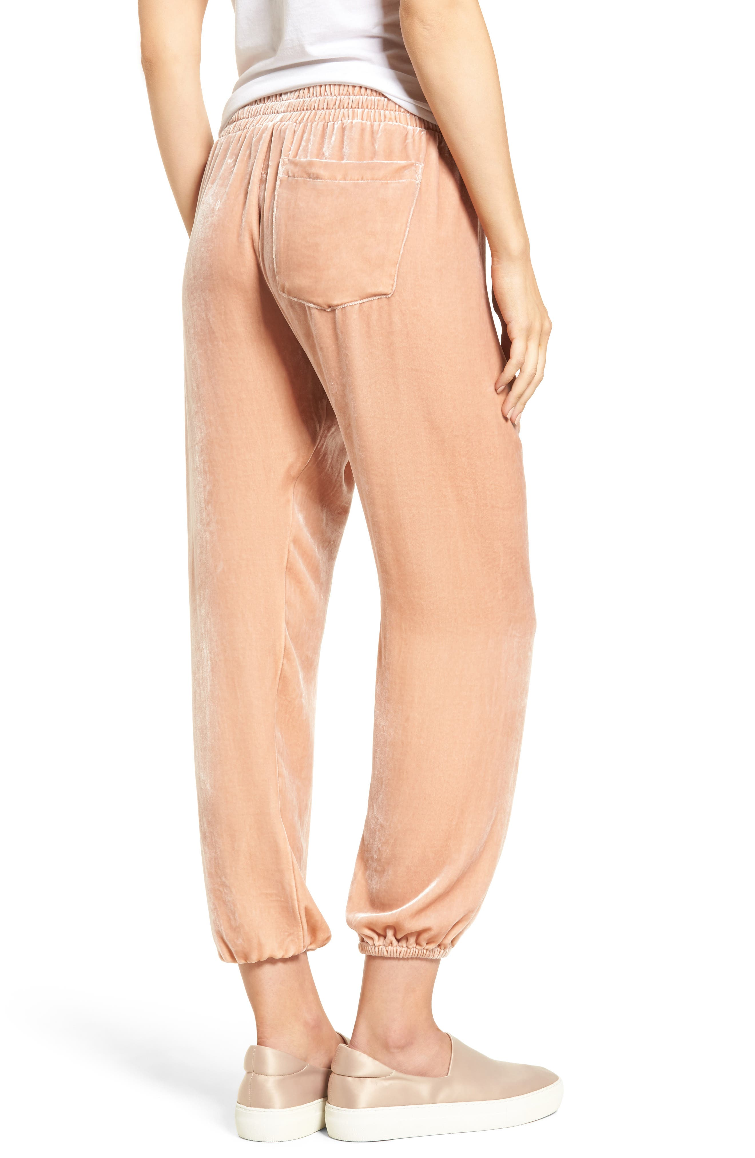 The Eden Jogger Pants,                             Alternate thumbnail 2, color,                             Muted Misty Rose