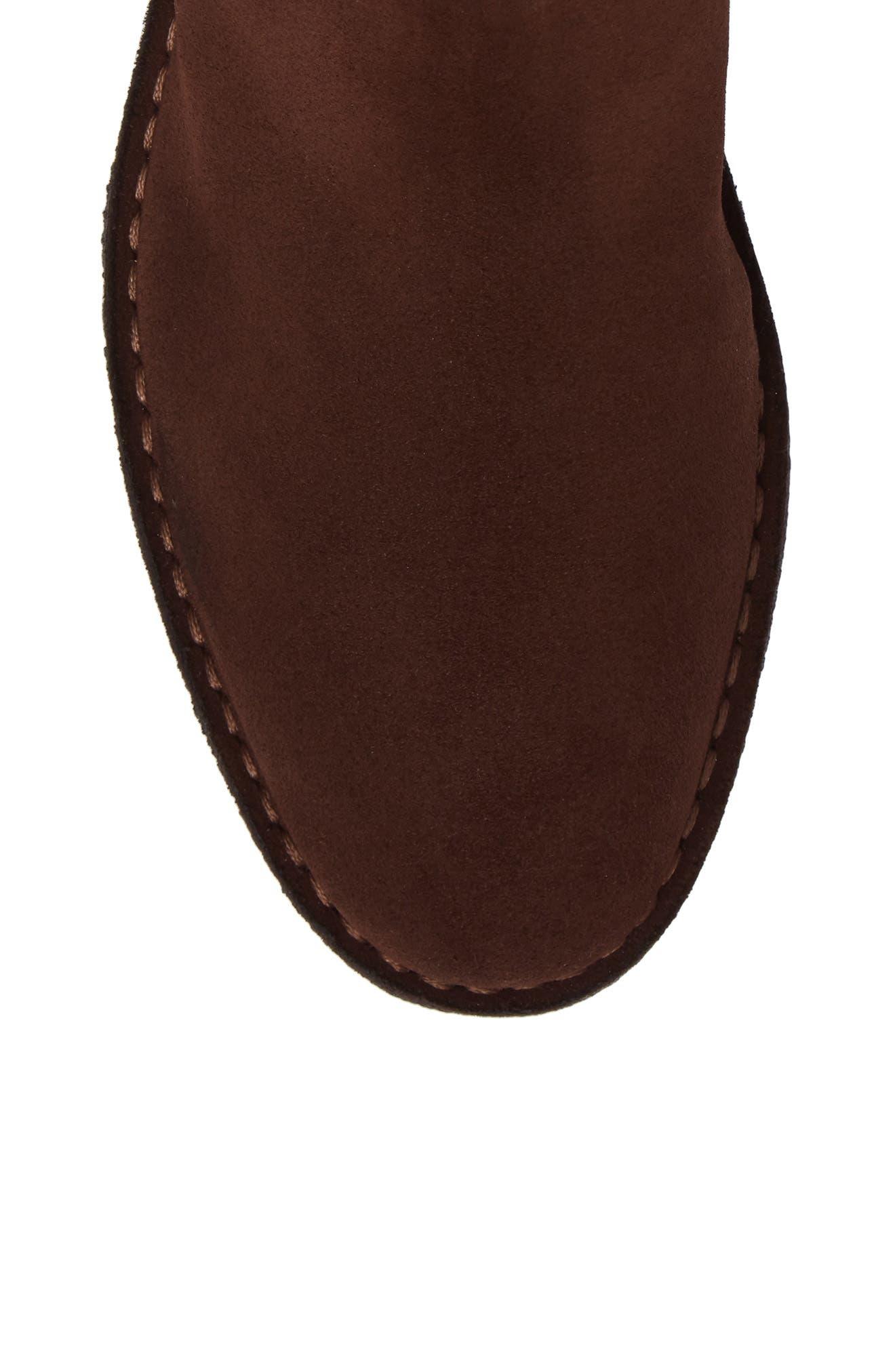 Oscar Chelsea Boot,                             Alternate thumbnail 5, color,                             Medium Brown