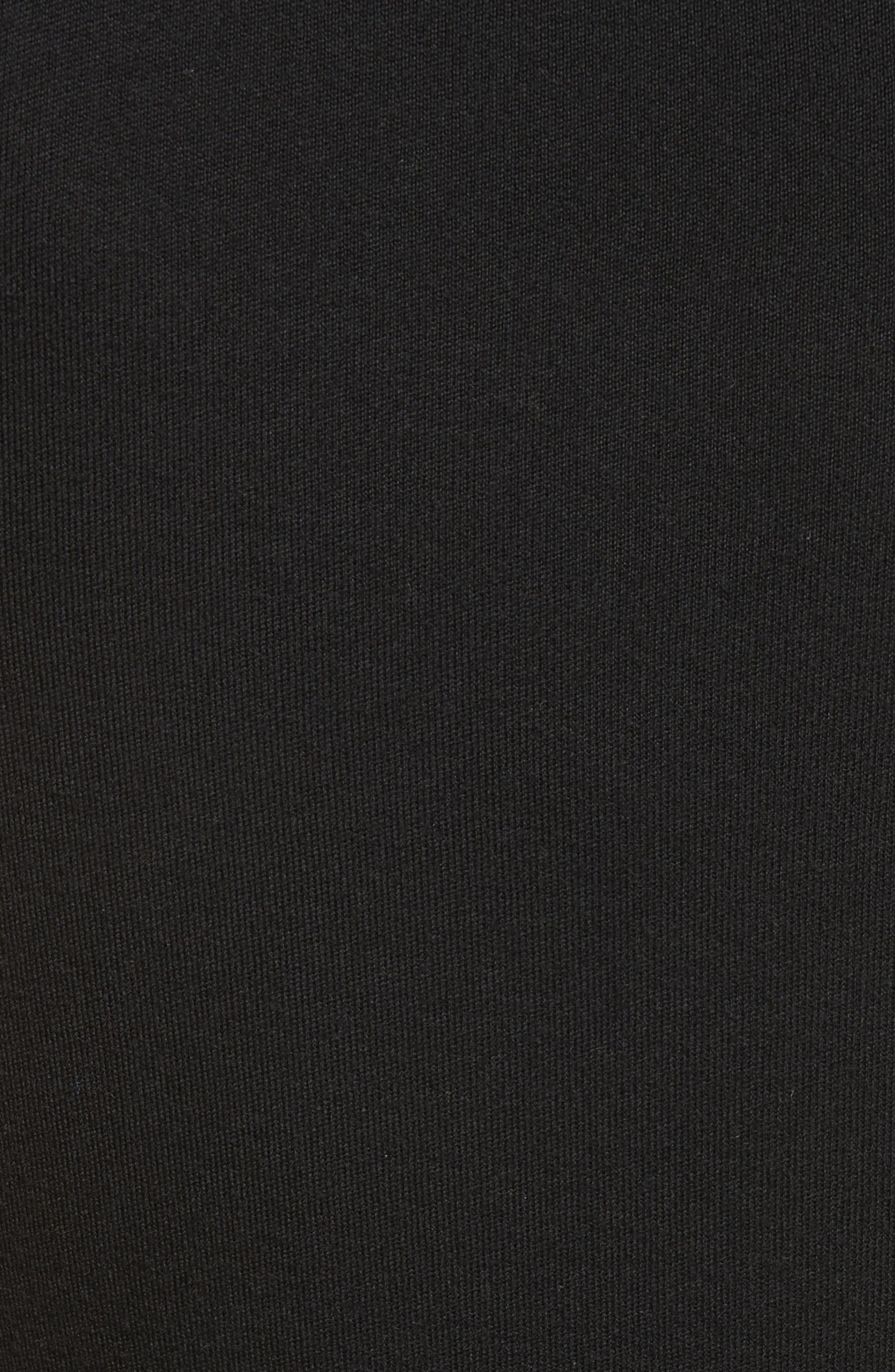 Cashmere Shell,                             Alternate thumbnail 5, color,                             Black