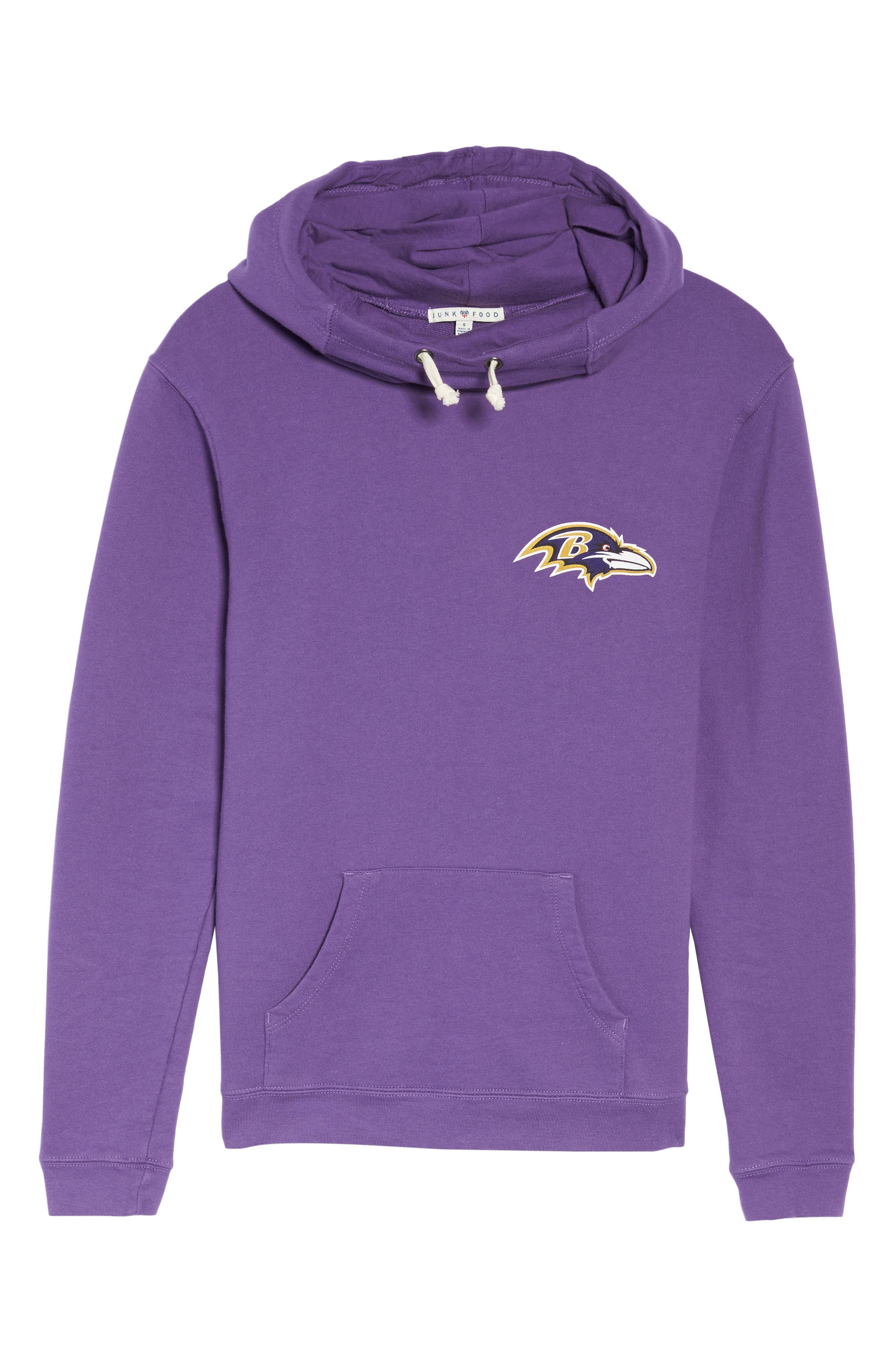 Alternate Image 4  - Junk Food NFL Baltimore Ravens Sunday Hoodie