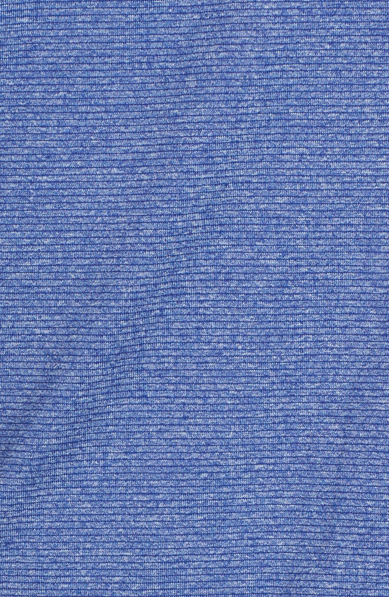 Shoreline - Indianapolis Colts Half Zip Pullover,                             Alternate thumbnail 5, color,                             Tour Blue Heather