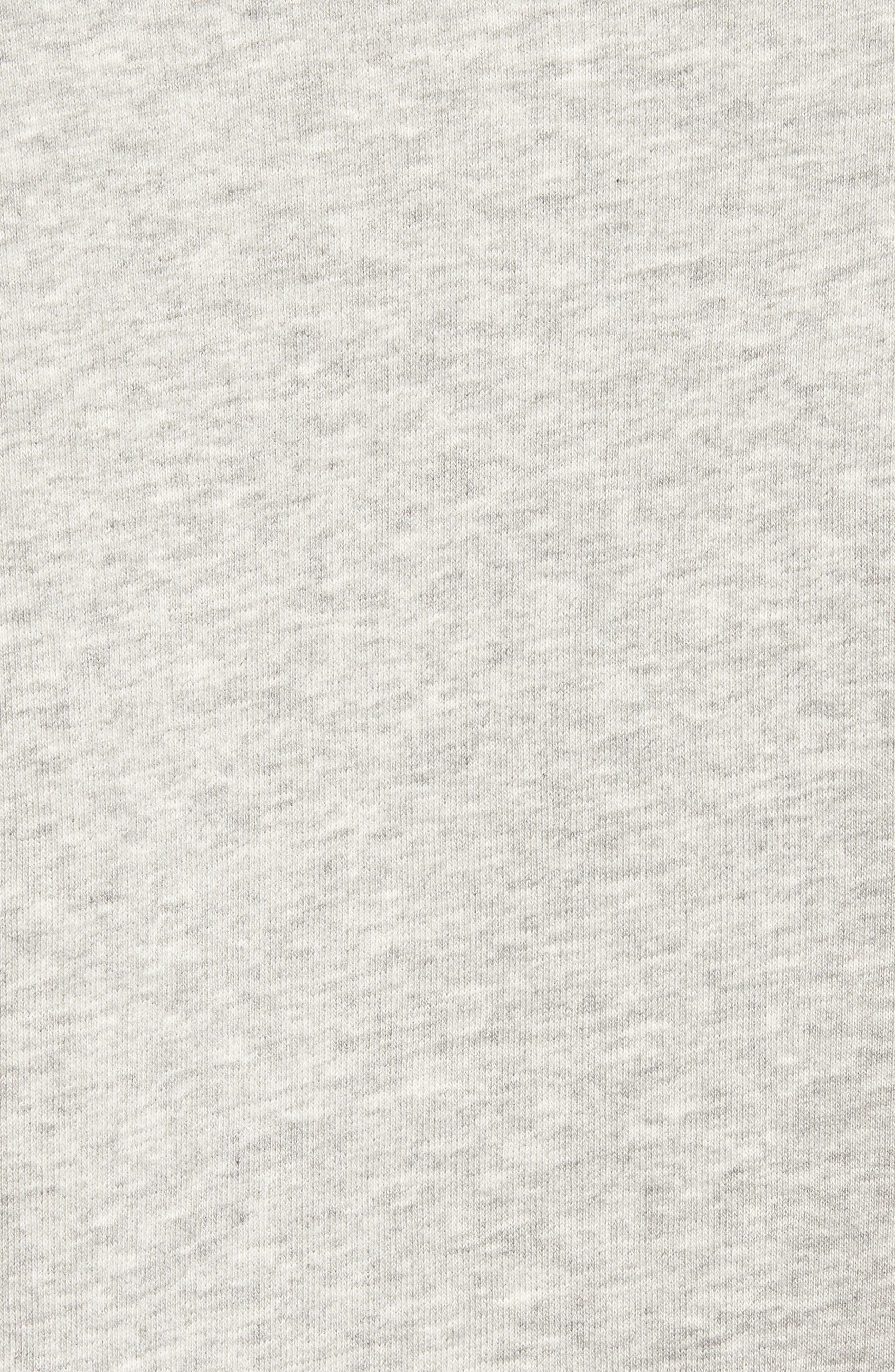 Lounge Crewneck Sweatshirt,                             Alternate thumbnail 5, color,                             Grey Heather