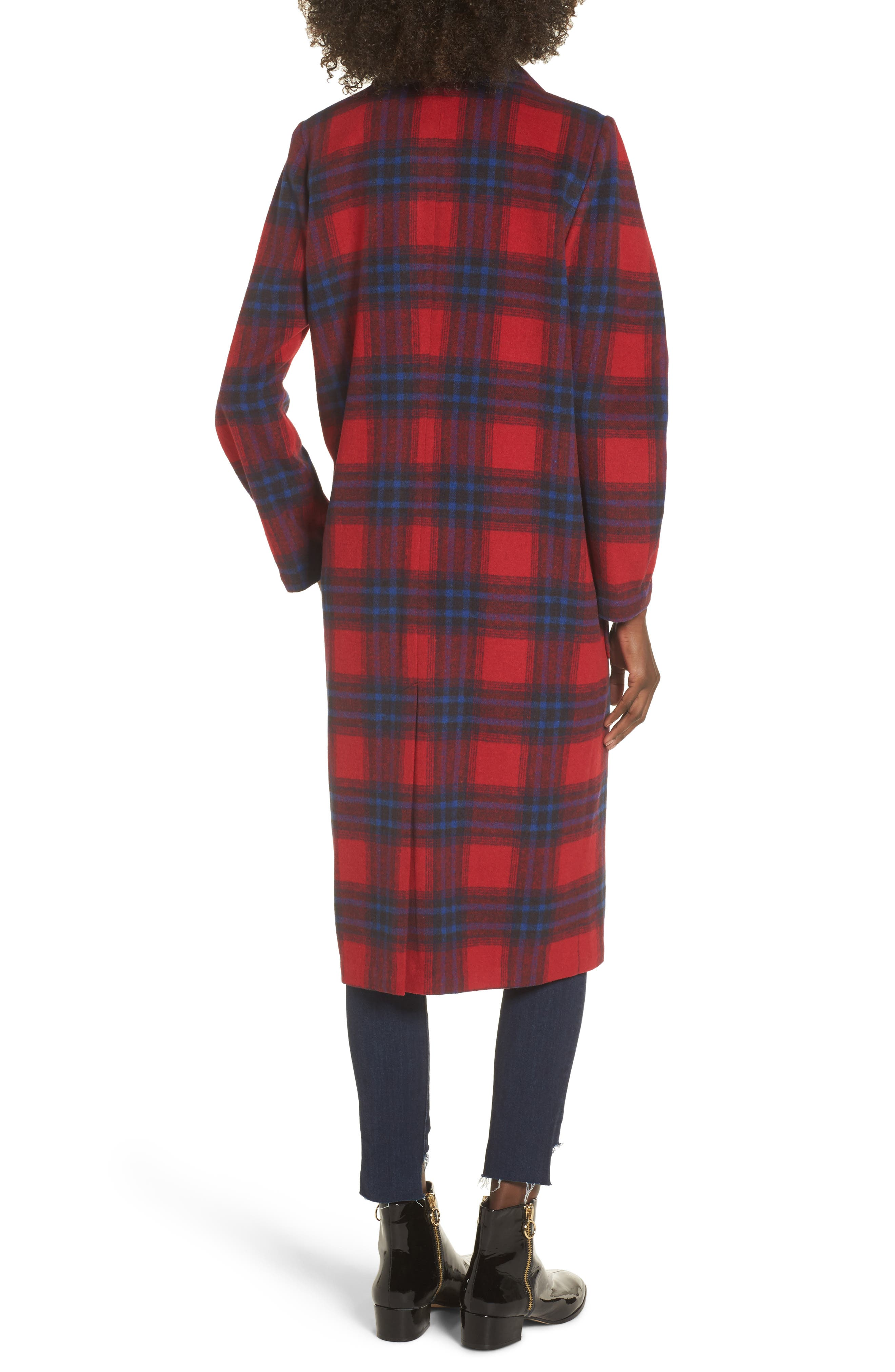 Alternate Image 3  - Leith Single Button Plaid Coat