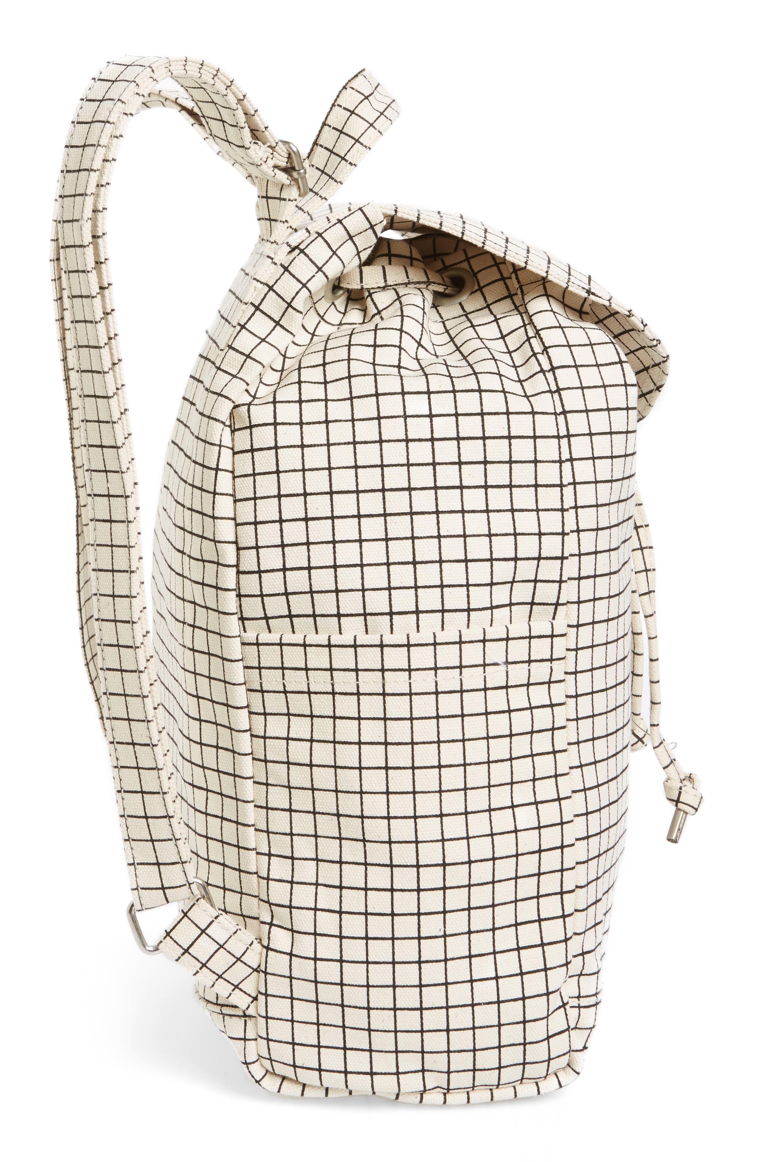 Alternate Image 3  - Baggu Drawstring Canvas Backpack