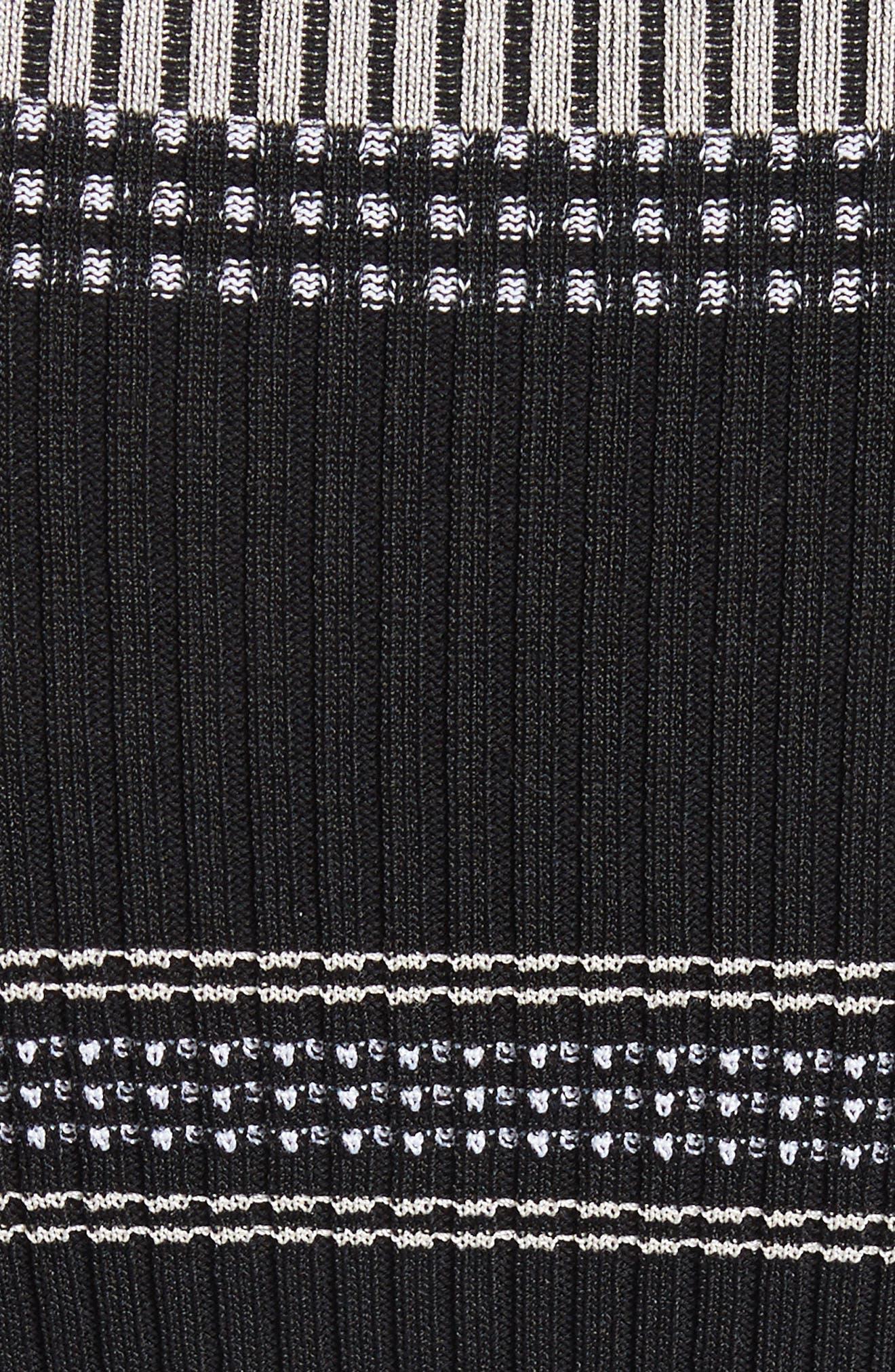 Alternate Image 5  - Proenza Schouler Stripe Rib Knit Top