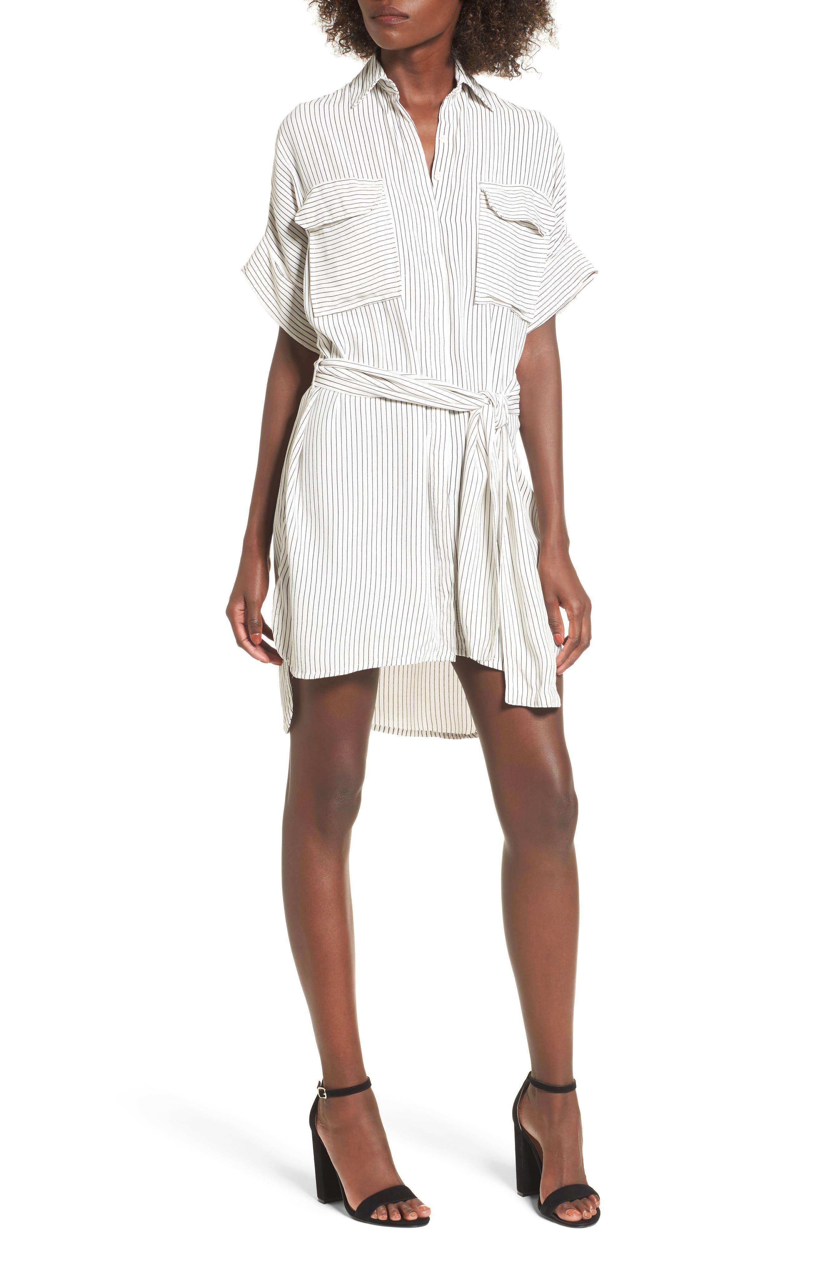 Main Image - FAITHFULL THE BRAND Casa Stripe Shirtdress