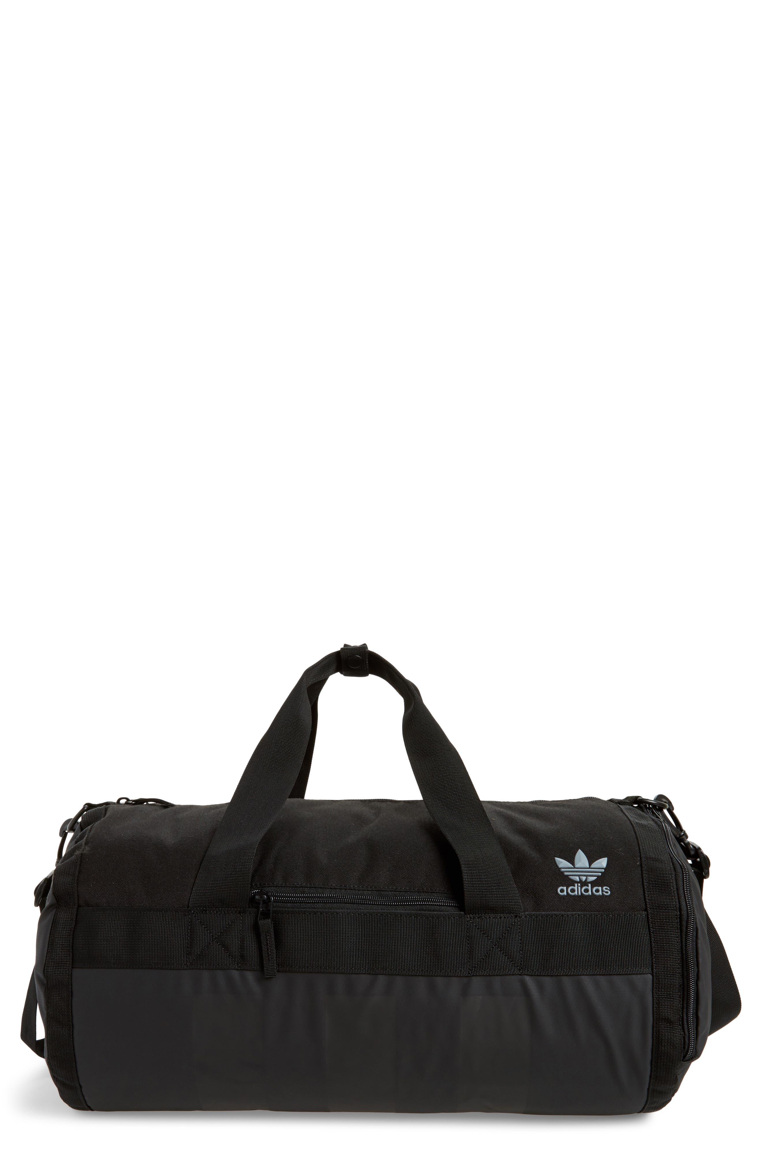 Originals Court Duffel Bag,                         Main,                         color, Black