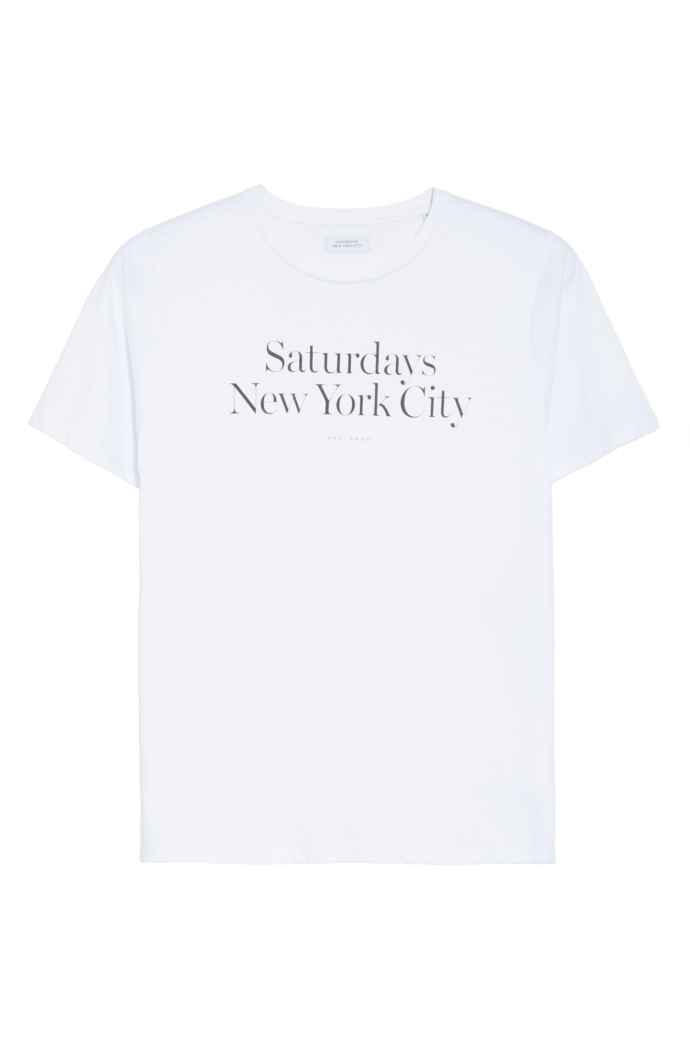 Alternate Image 6  - Saturdays NYC Miller Graphic T-Shirt