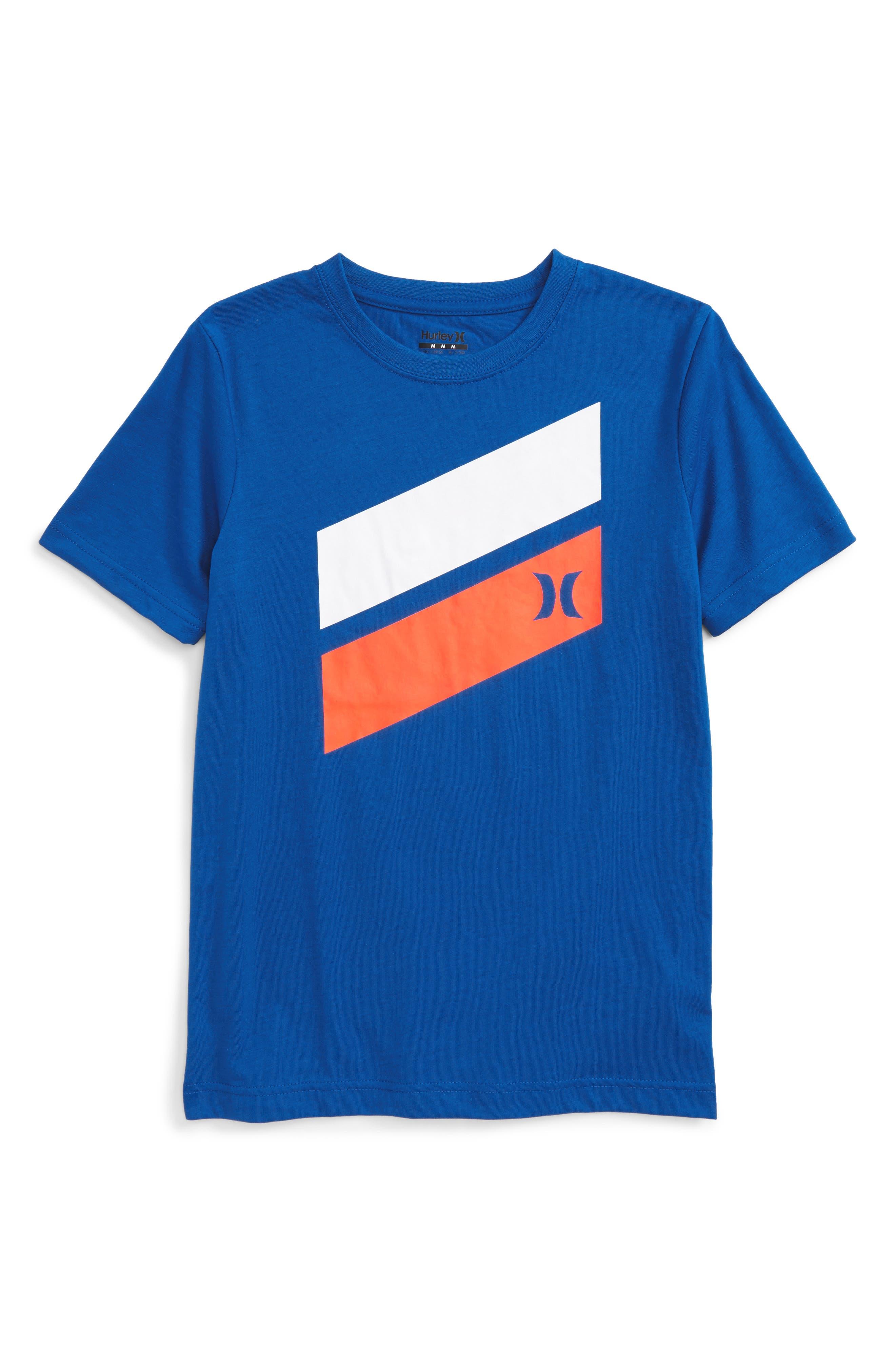 Hurley 'Icon Slash' Graphic T-Shirt (Toddler Boys, Little Boys & Big Boys)