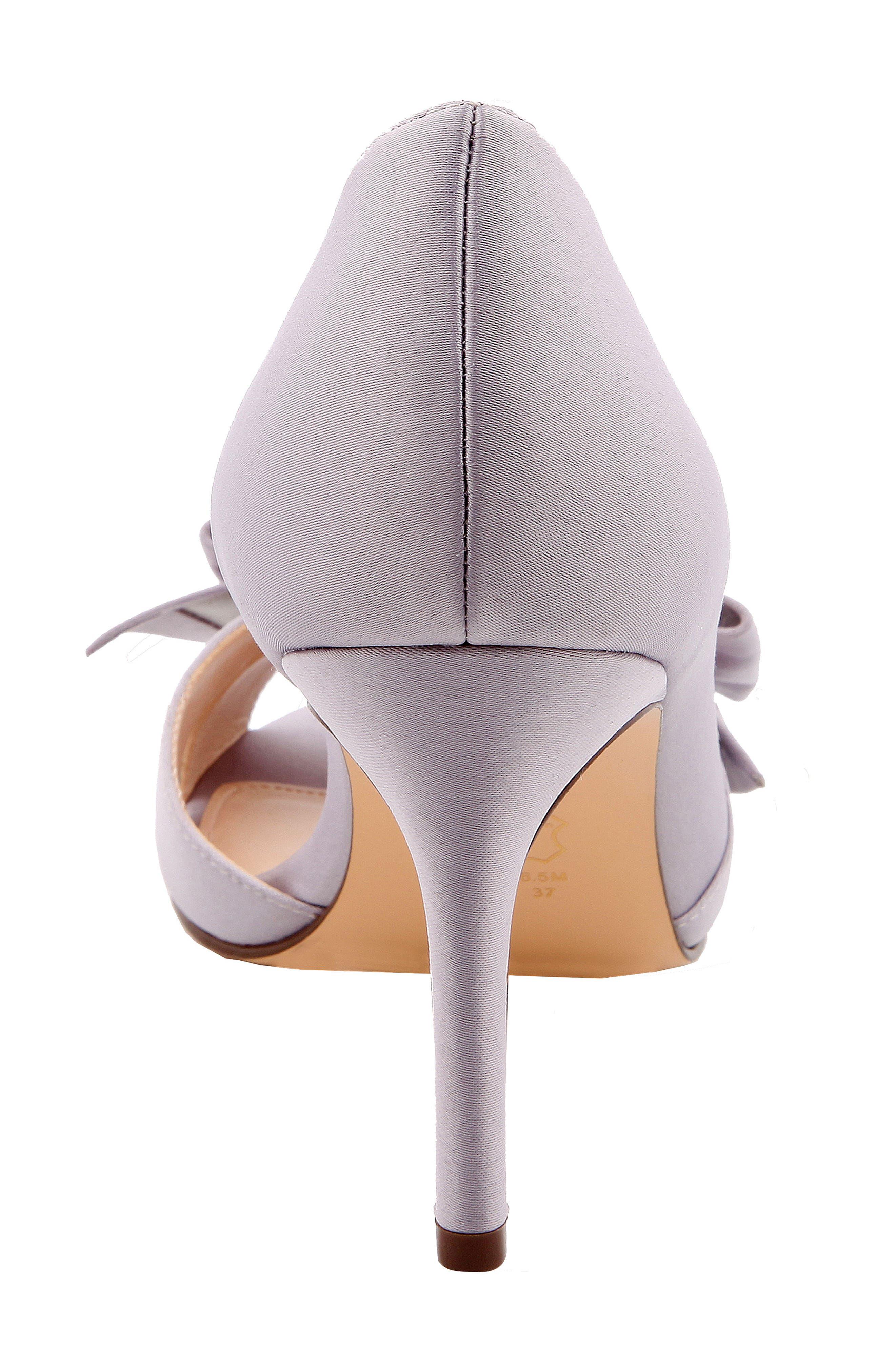 Alternate Image 4  - Nina Forbes II Peep Toe Pump (Women)