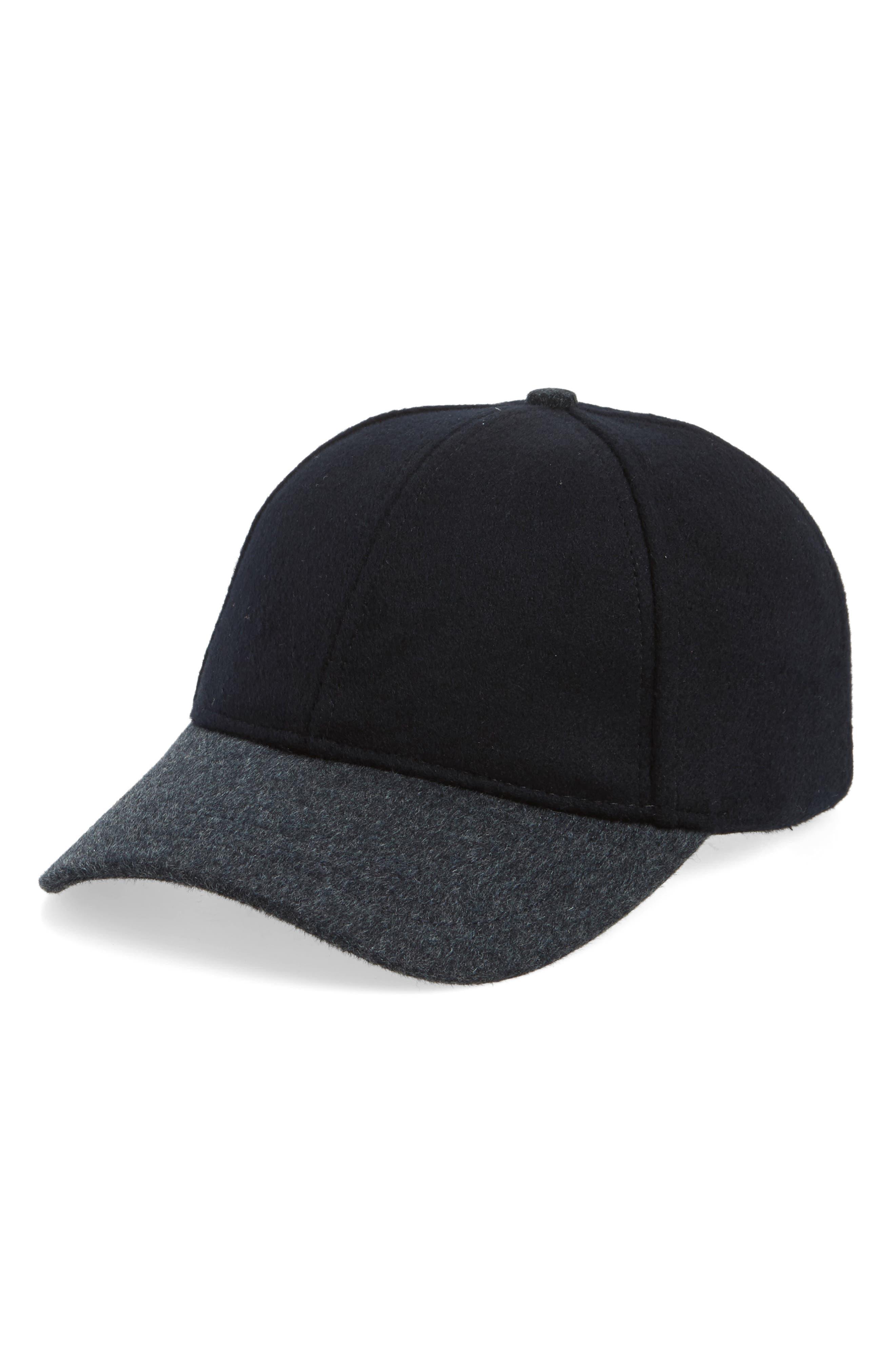 Main Image - Sole Society Two-Tone Baseball Cap