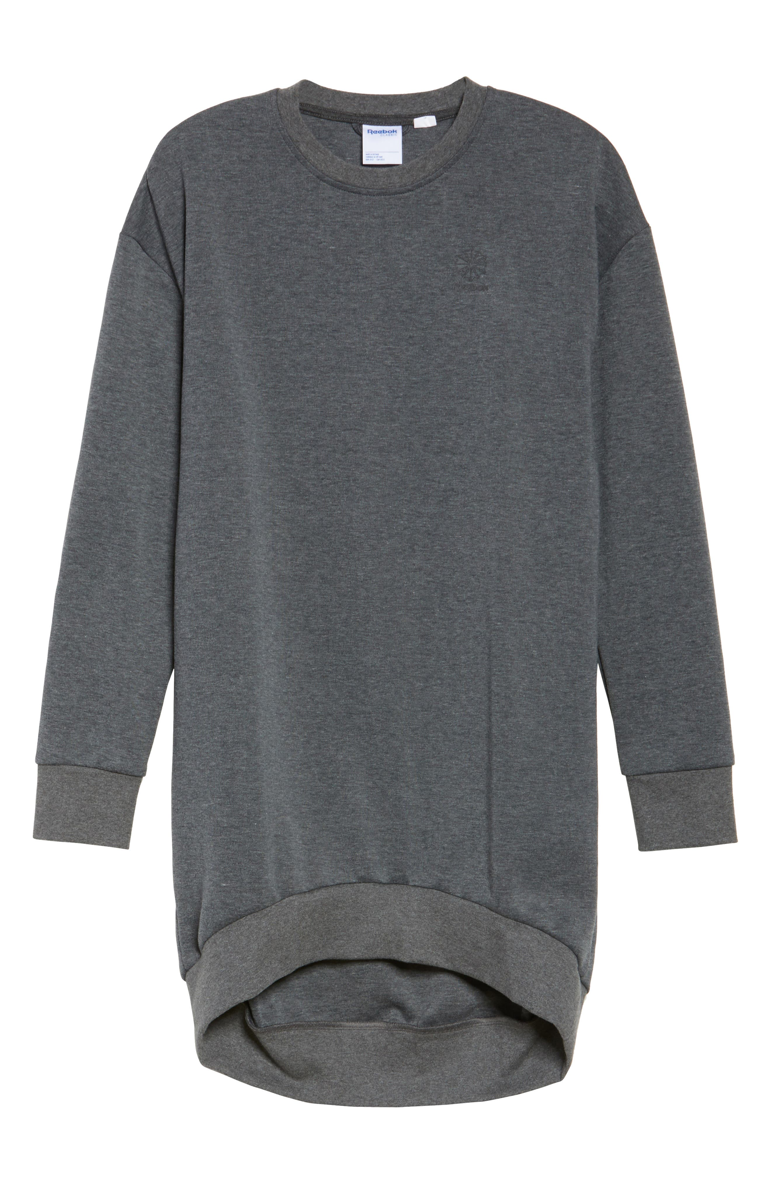 Oversize Sweatshirt,                             Alternate thumbnail 7, color,                             Dark Grey Heather